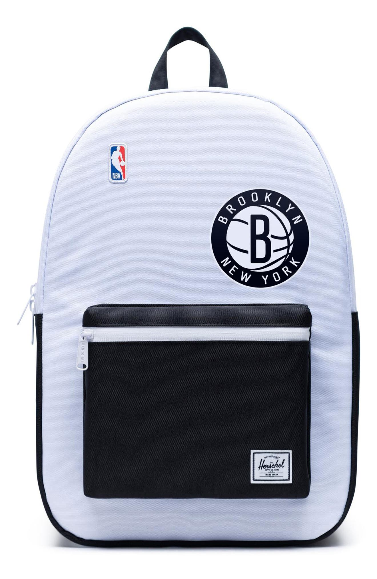 Herschel Supply Co. Settlement Nba Champions 15-Inch Laptop Backpack - White