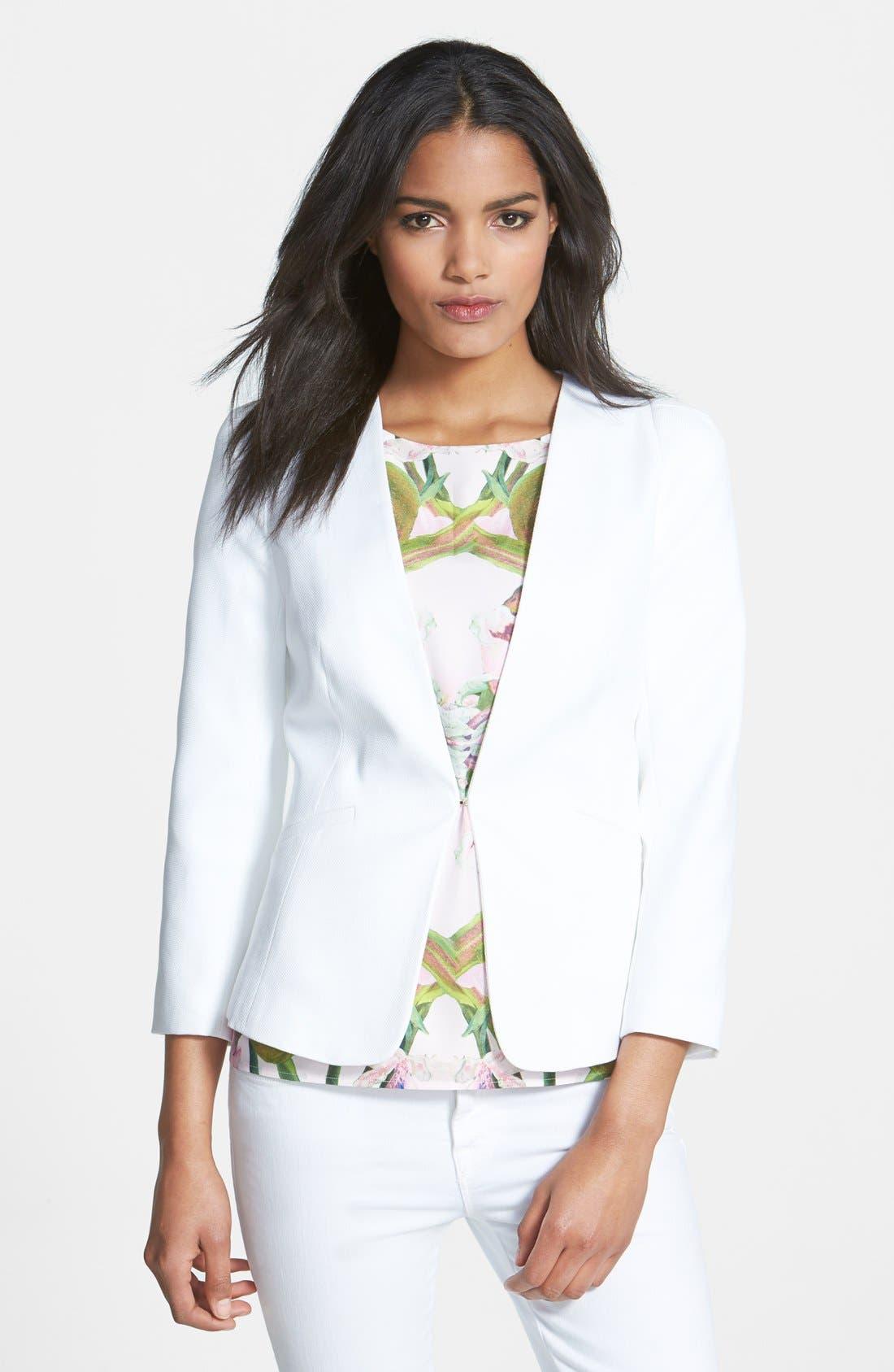 Structured Shoulder Jacket,                         Main,                         color, 110