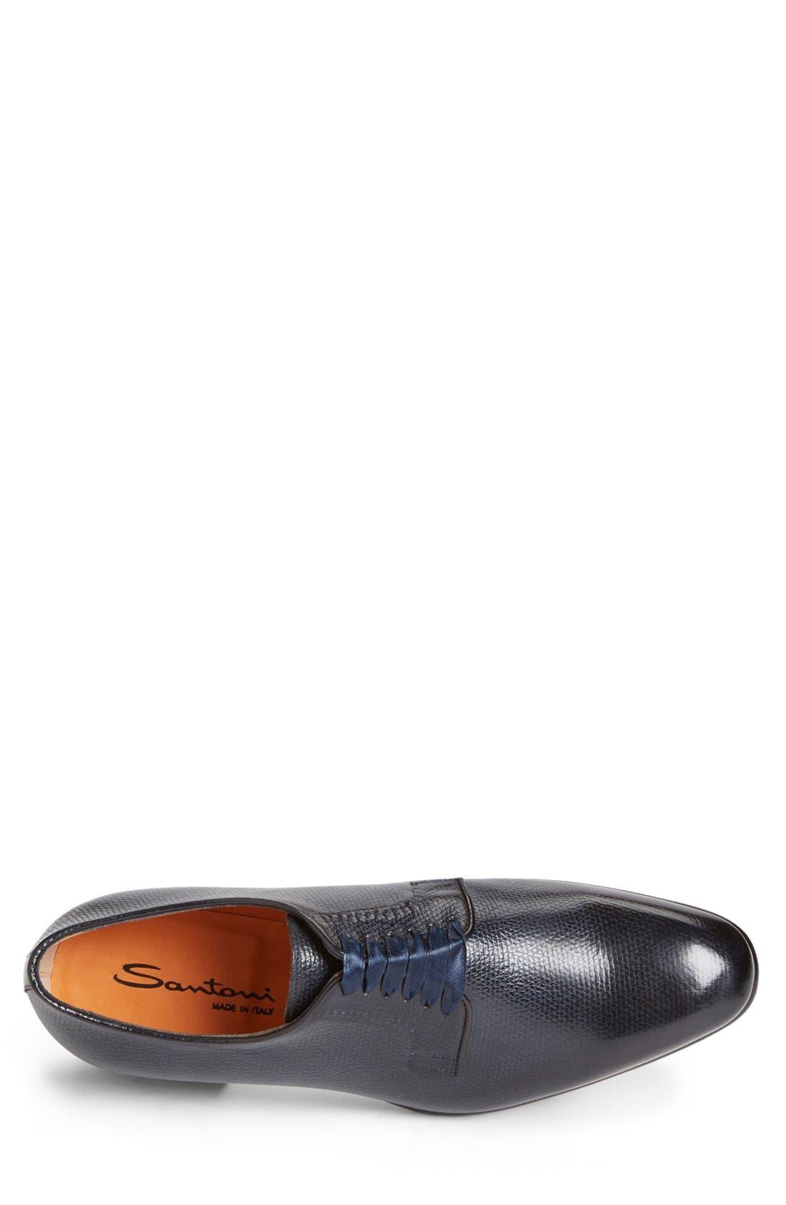 'Chelsey' Plain Toe Oxford,                             Alternate thumbnail 4, color,                             410