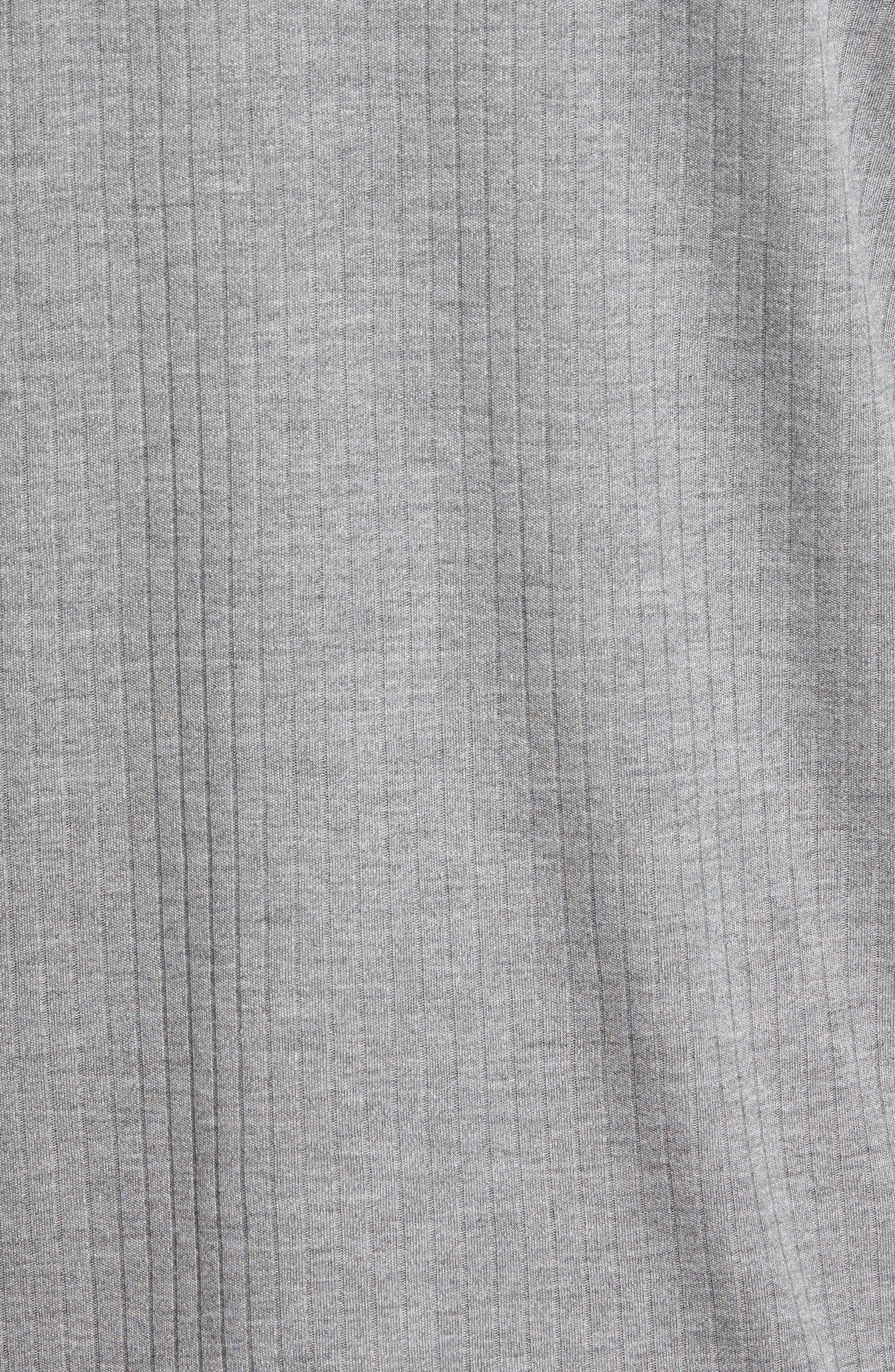 Ribbed Henley,                             Alternate thumbnail 5, color,                             095