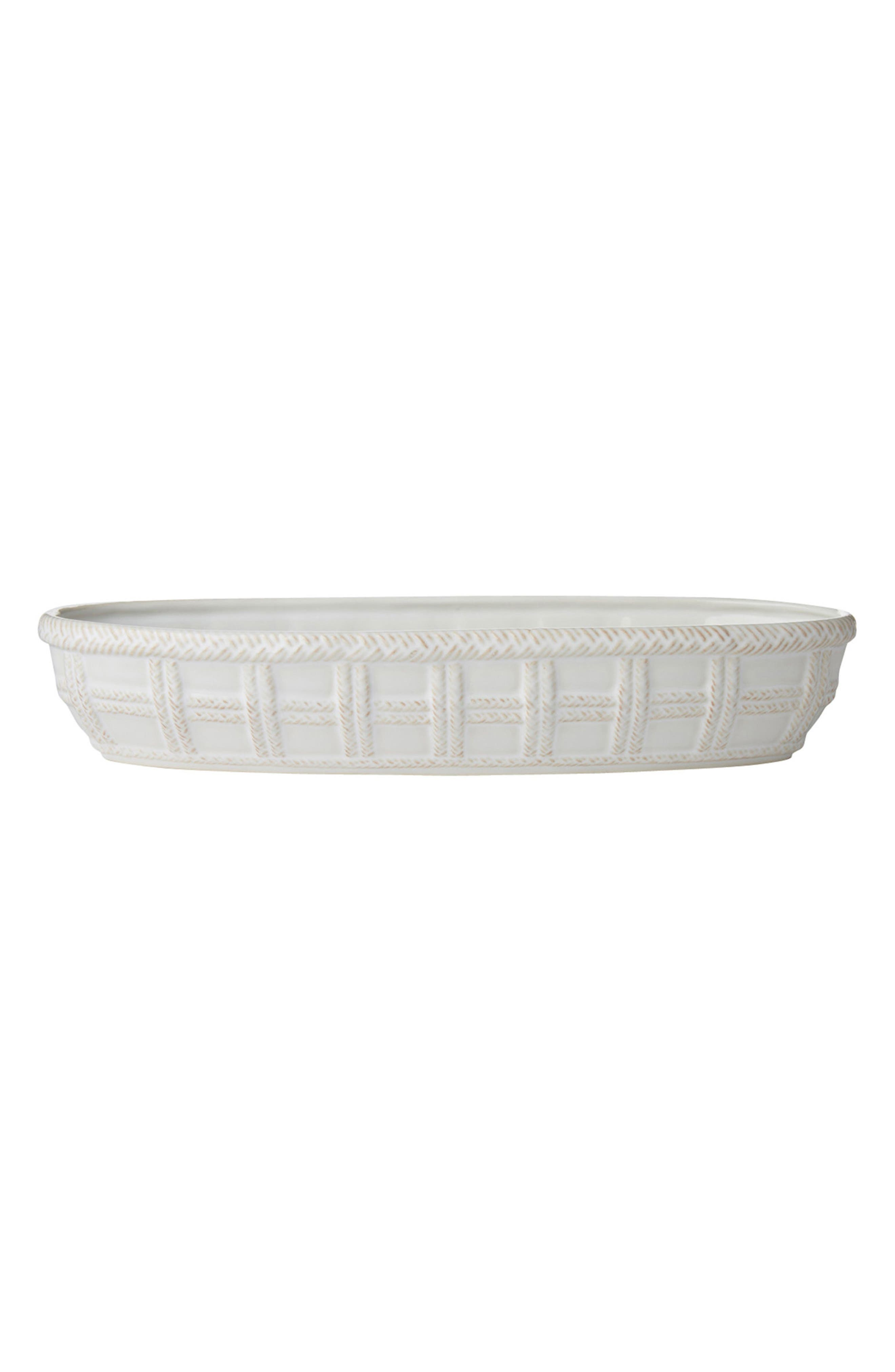 Le Panier Ceramic Bread Basket,                         Main,                         color, WHITEWASH