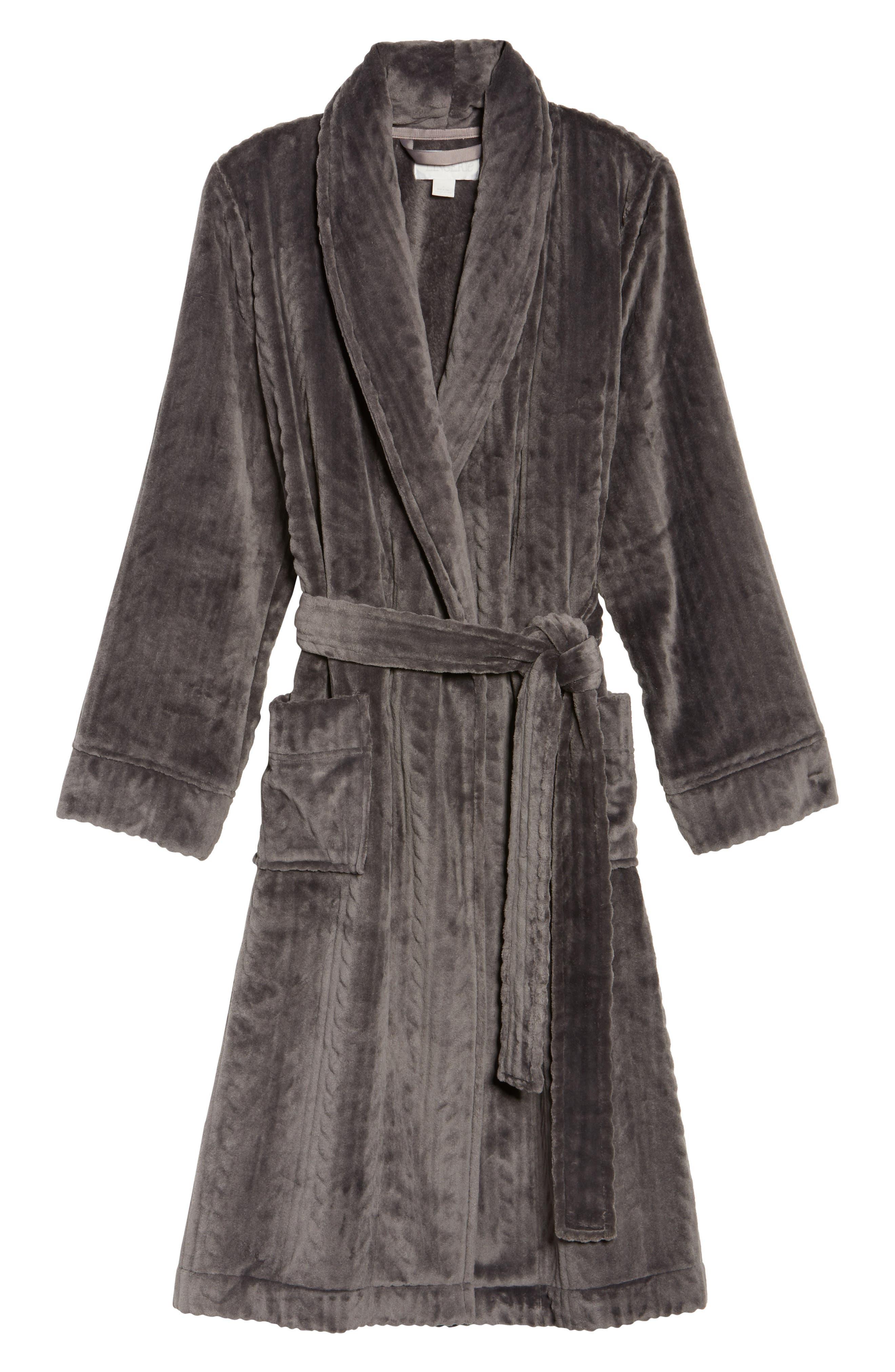 Nordstrom So Soft Plush Robe,                             Alternate thumbnail 17, color,