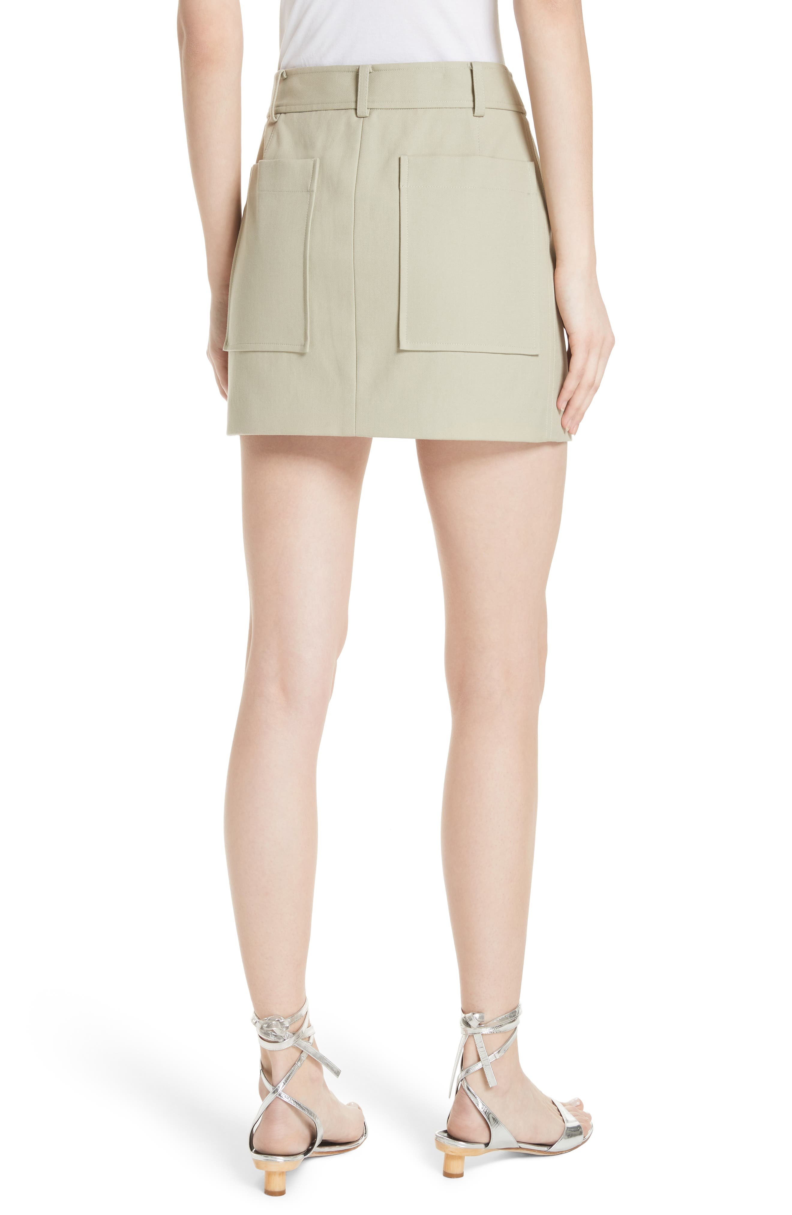 TIBI,                             Margaux Miniskirt,                             Alternate thumbnail 2, color,                             310
