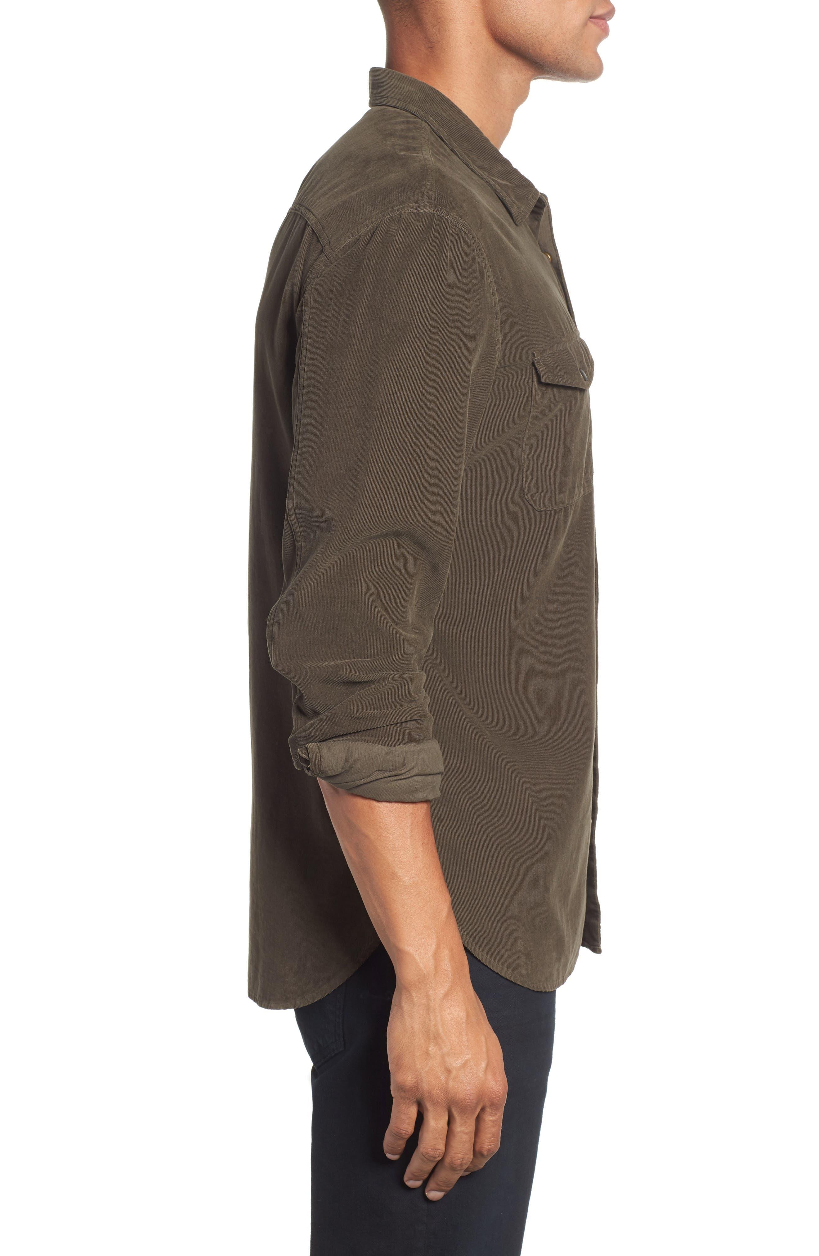 Corduroy Shirt,                             Alternate thumbnail 4, color,                             391