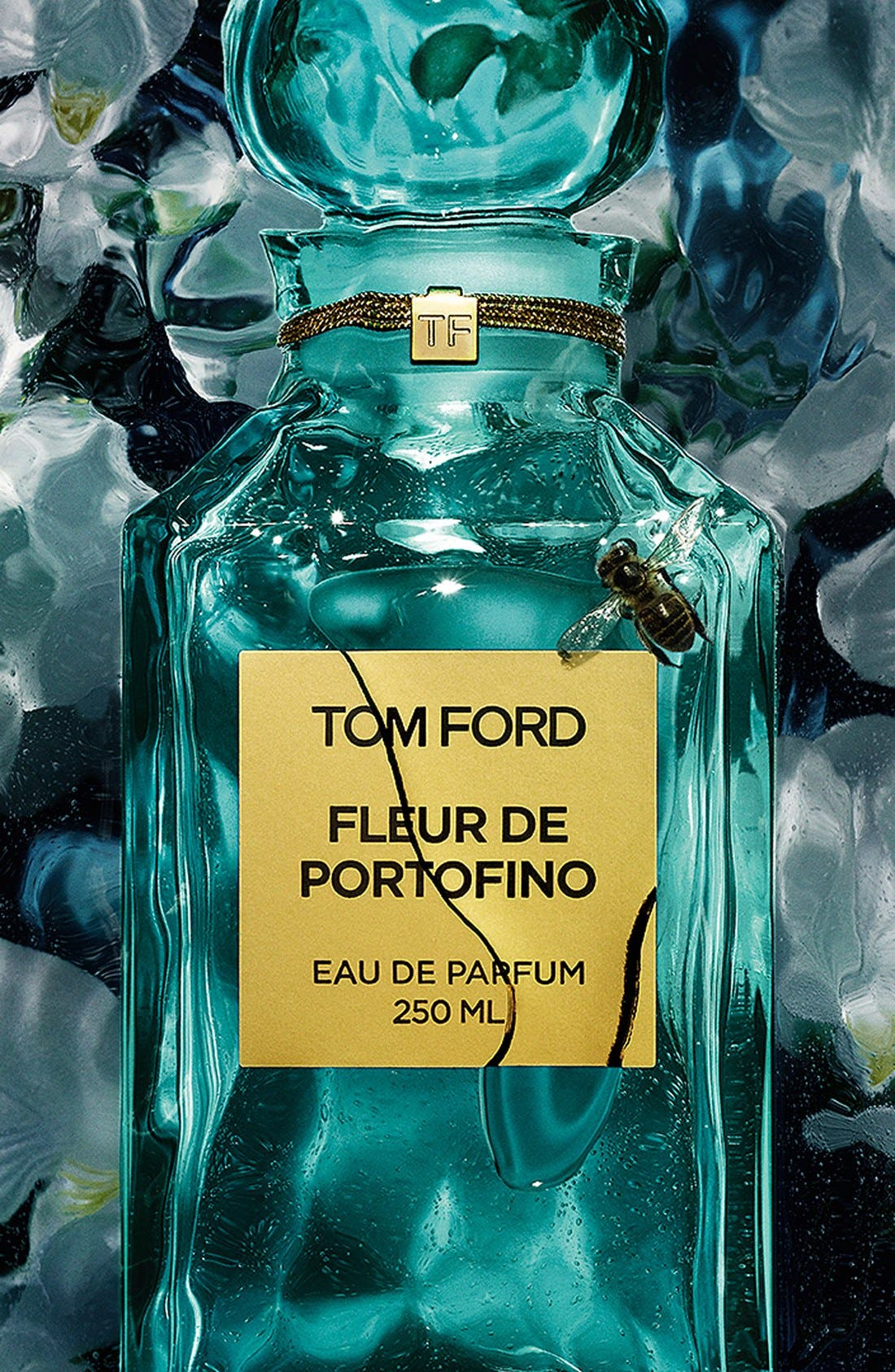 Private Blend Fleur de Portofino Eau de Parfum Decanter,                             Alternate thumbnail 4, color,                             NO COLOR