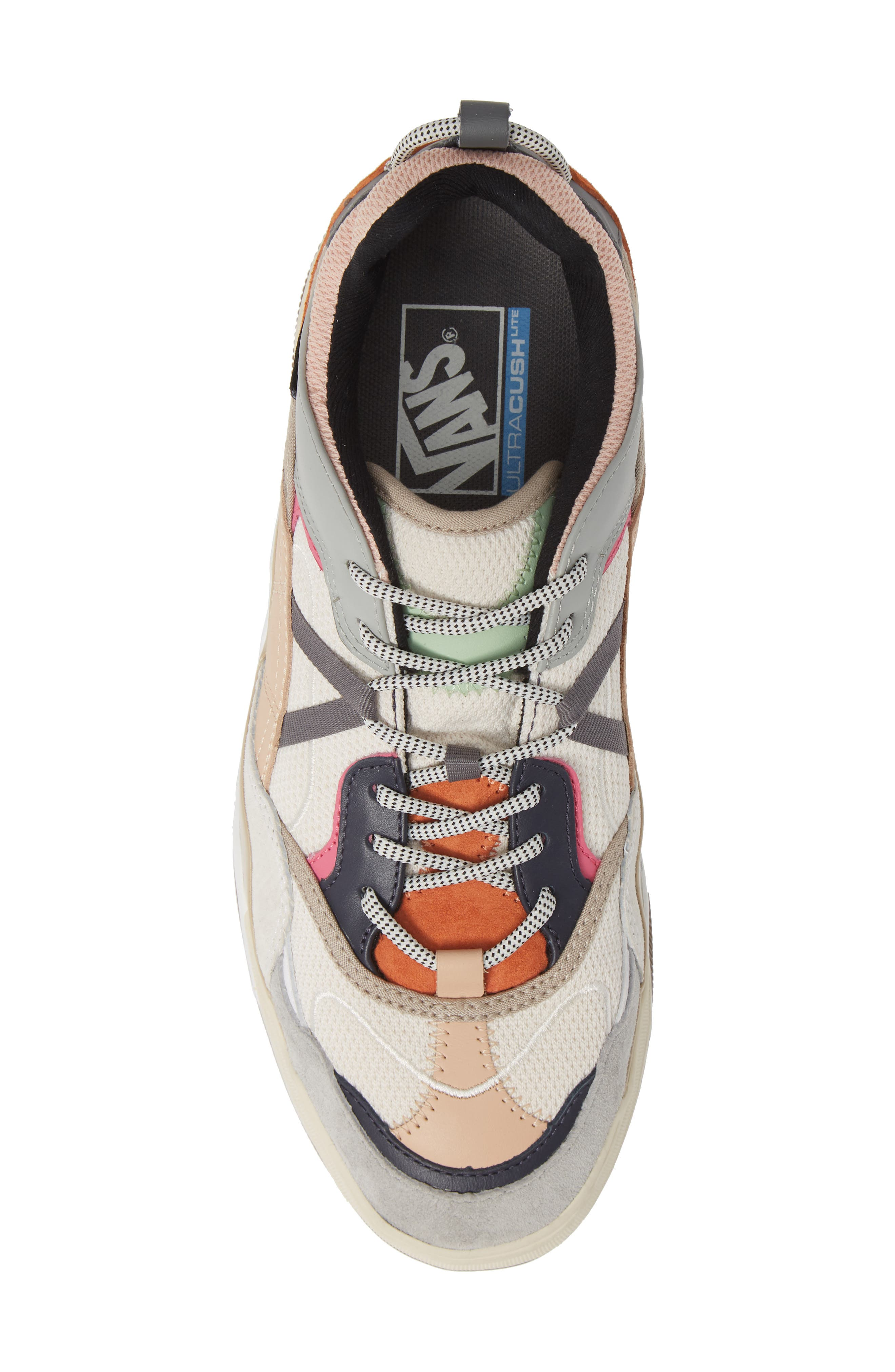 VANS,                             Varix WC Sneaker,                             Alternate thumbnail 5, color,                             TURTLEDOVE/ TRUE WHITE LEATHER