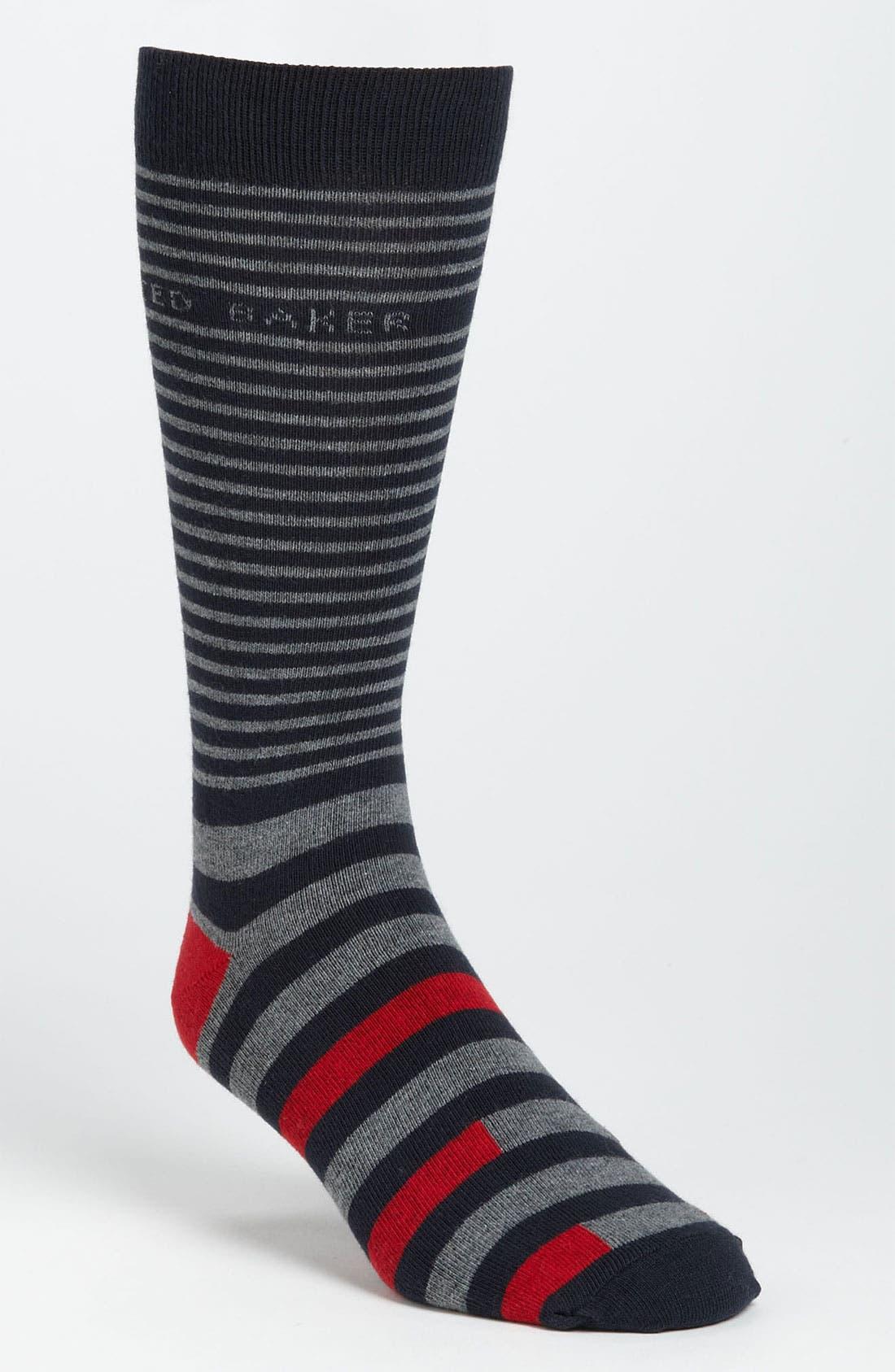 Stripe Socks,                             Main thumbnail 1, color,                             031