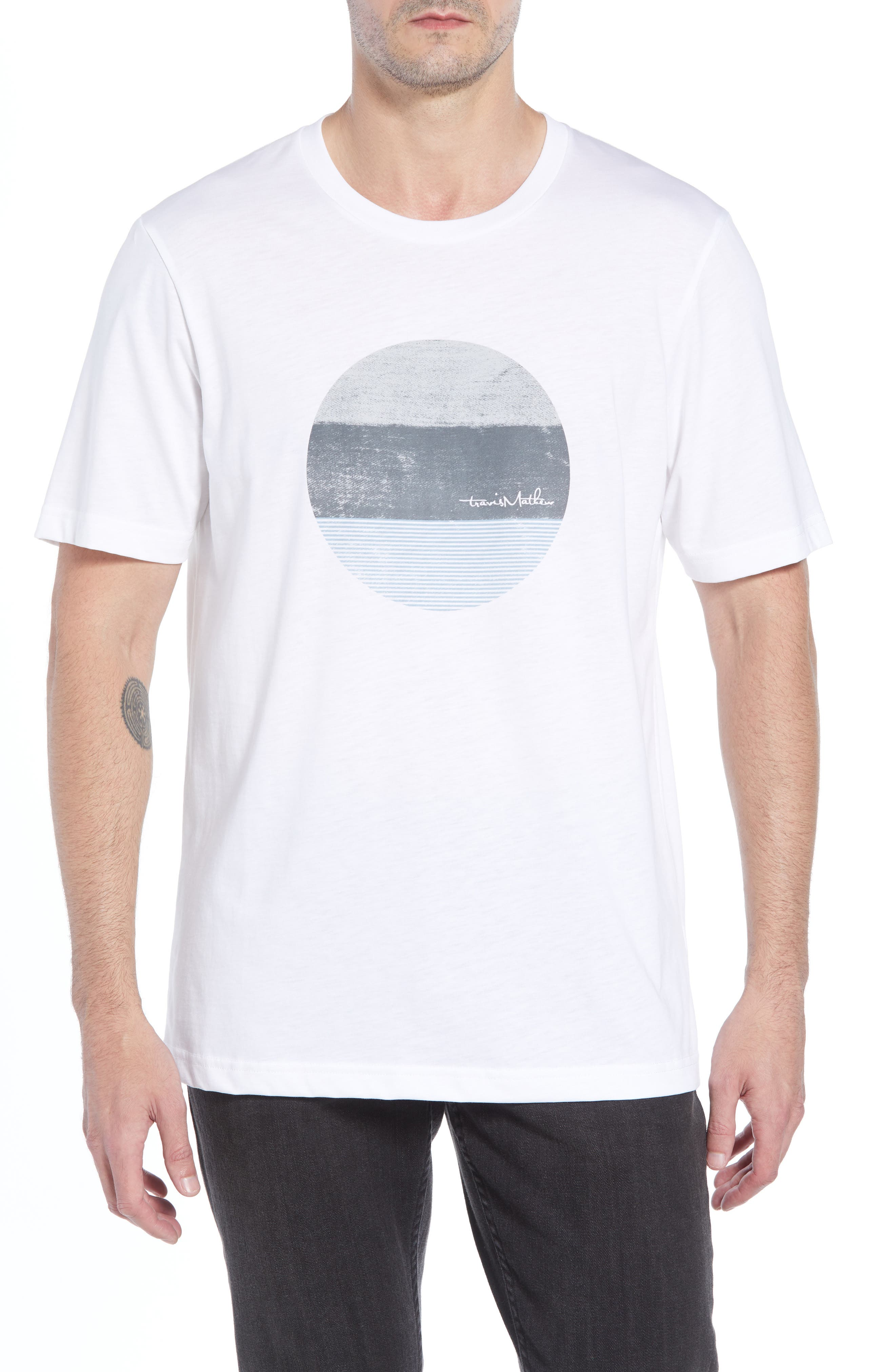 The Lumber Graphic T-Shirt,                             Main thumbnail 1, color,                             WHITE