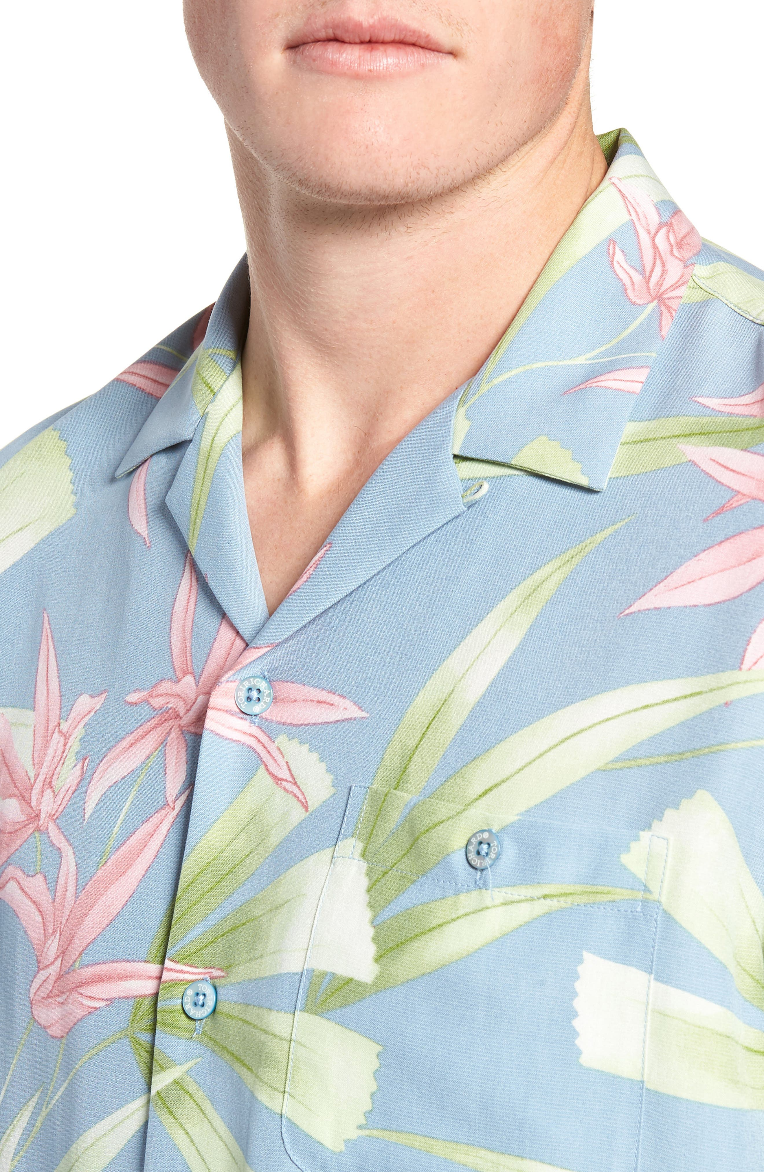 Kado Regular Fit Silk Blend Camp Shirt,                             Alternate thumbnail 2, color,                             458