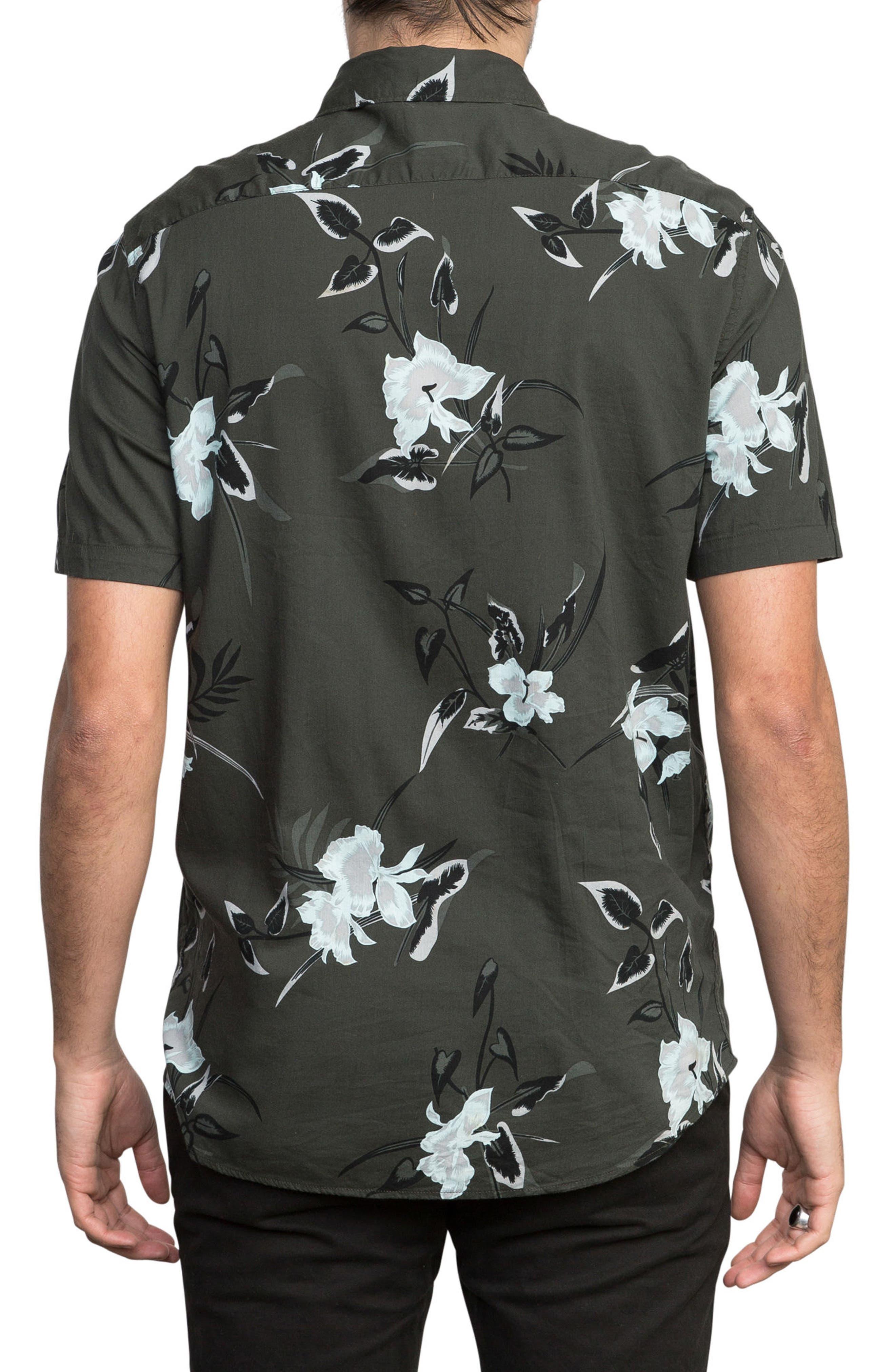 Moonflower Woven Shirt,                             Alternate thumbnail 2, color,                             008