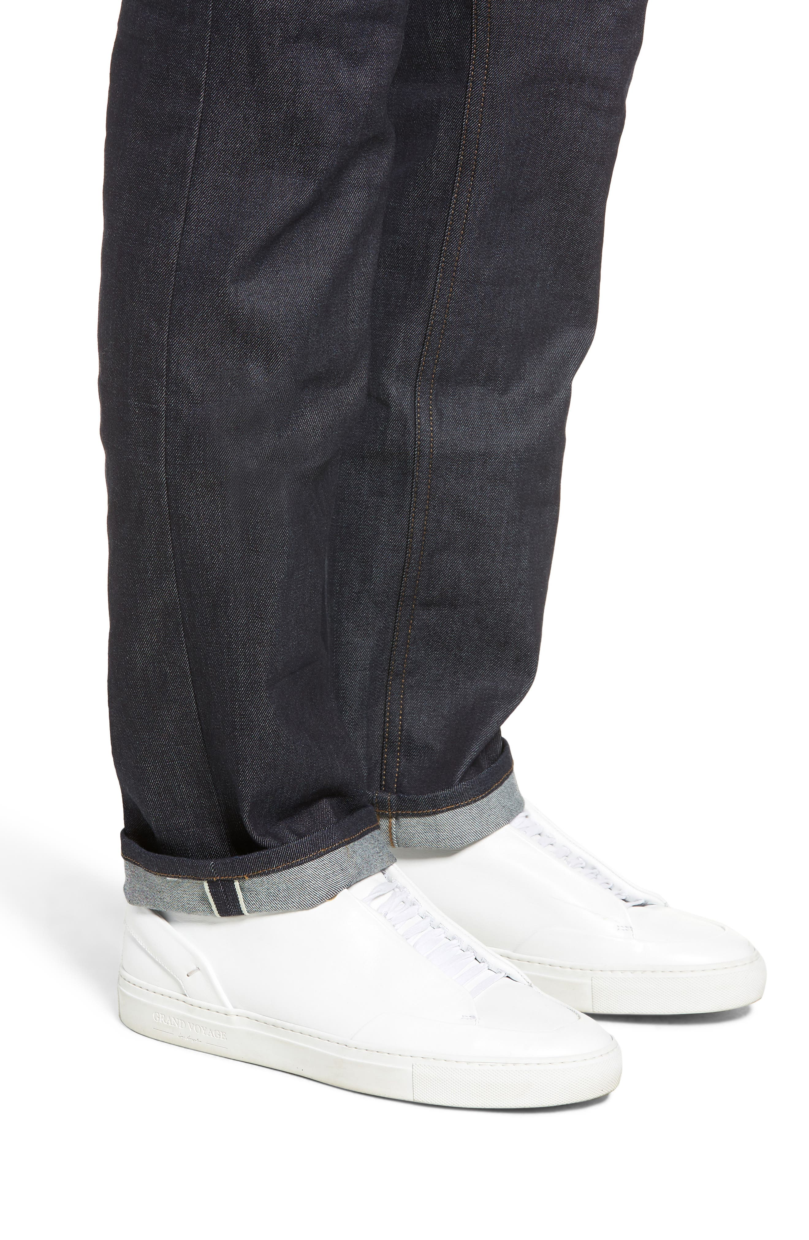 Greensboro Straight Leg Jeans,                             Alternate thumbnail 4, color,                             472