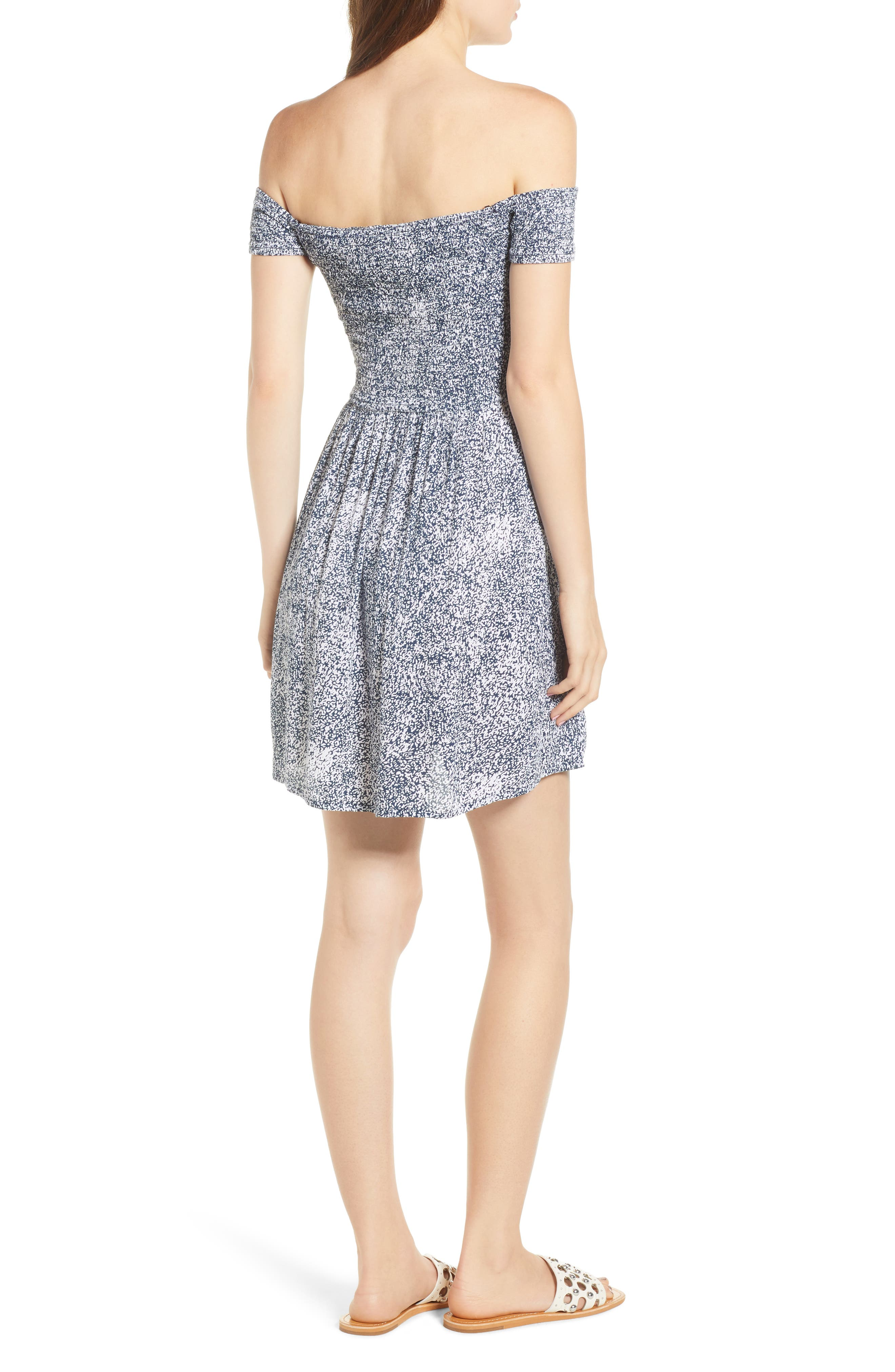 She's So Daisy Off the Shoulder Dress,                             Alternate thumbnail 2, color,                             415