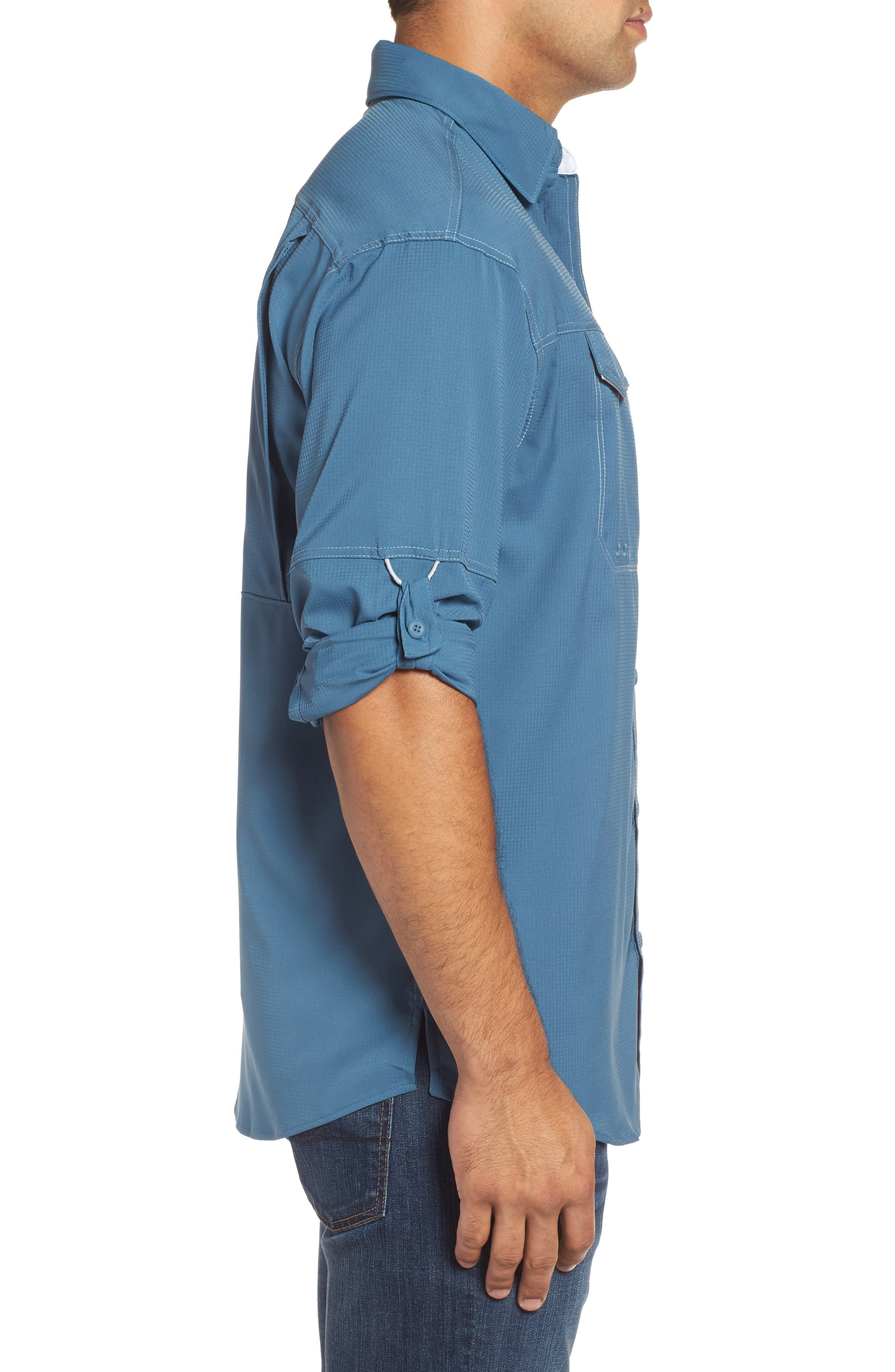 Low Drag Offshore Woven Shirt,                             Alternate thumbnail 25, color,