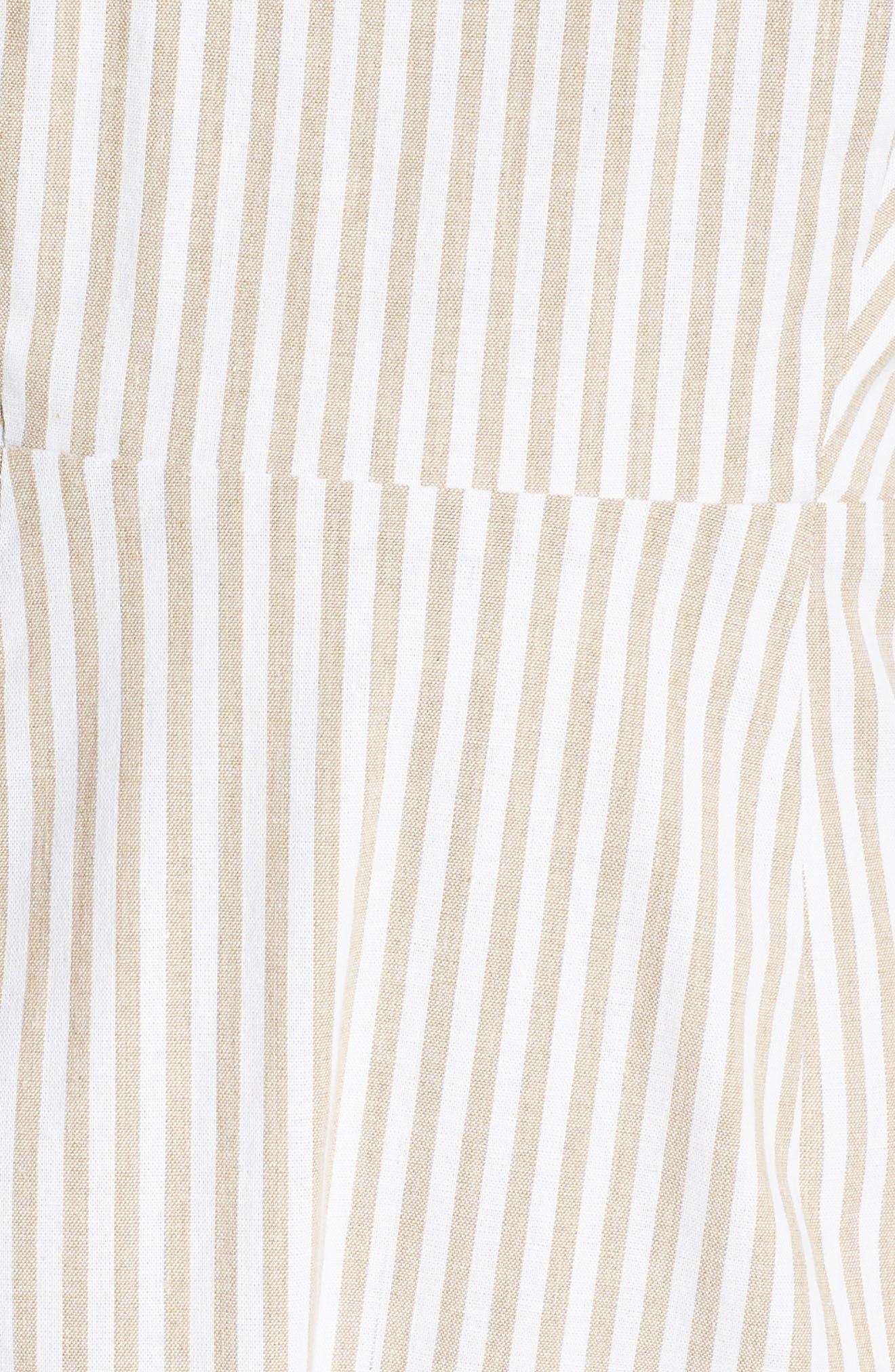 Halter Neck Midi Dress,                             Alternate thumbnail 6, color,                             250