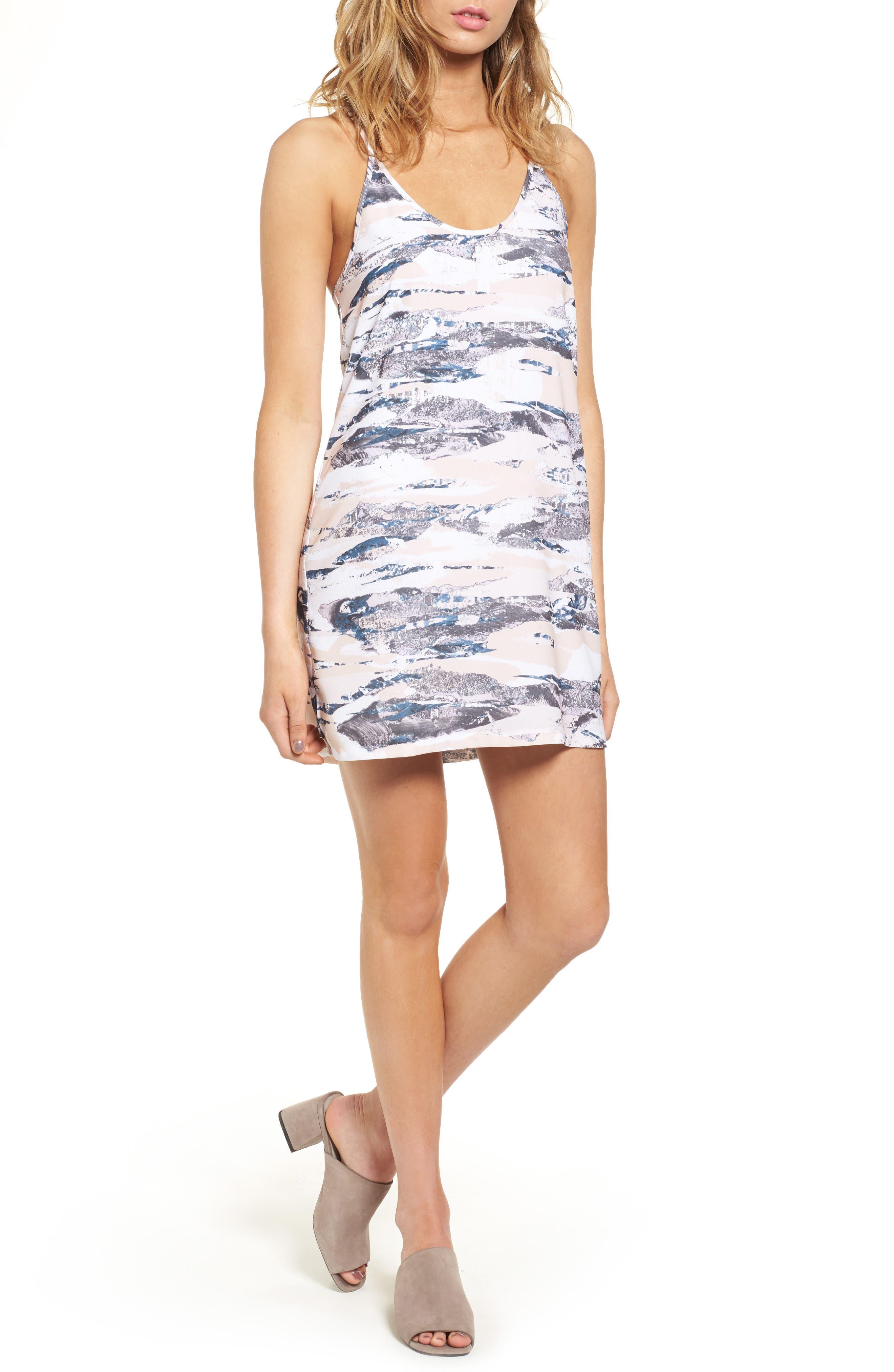 Racerback Tank Dress,                         Main,                         color, 020
