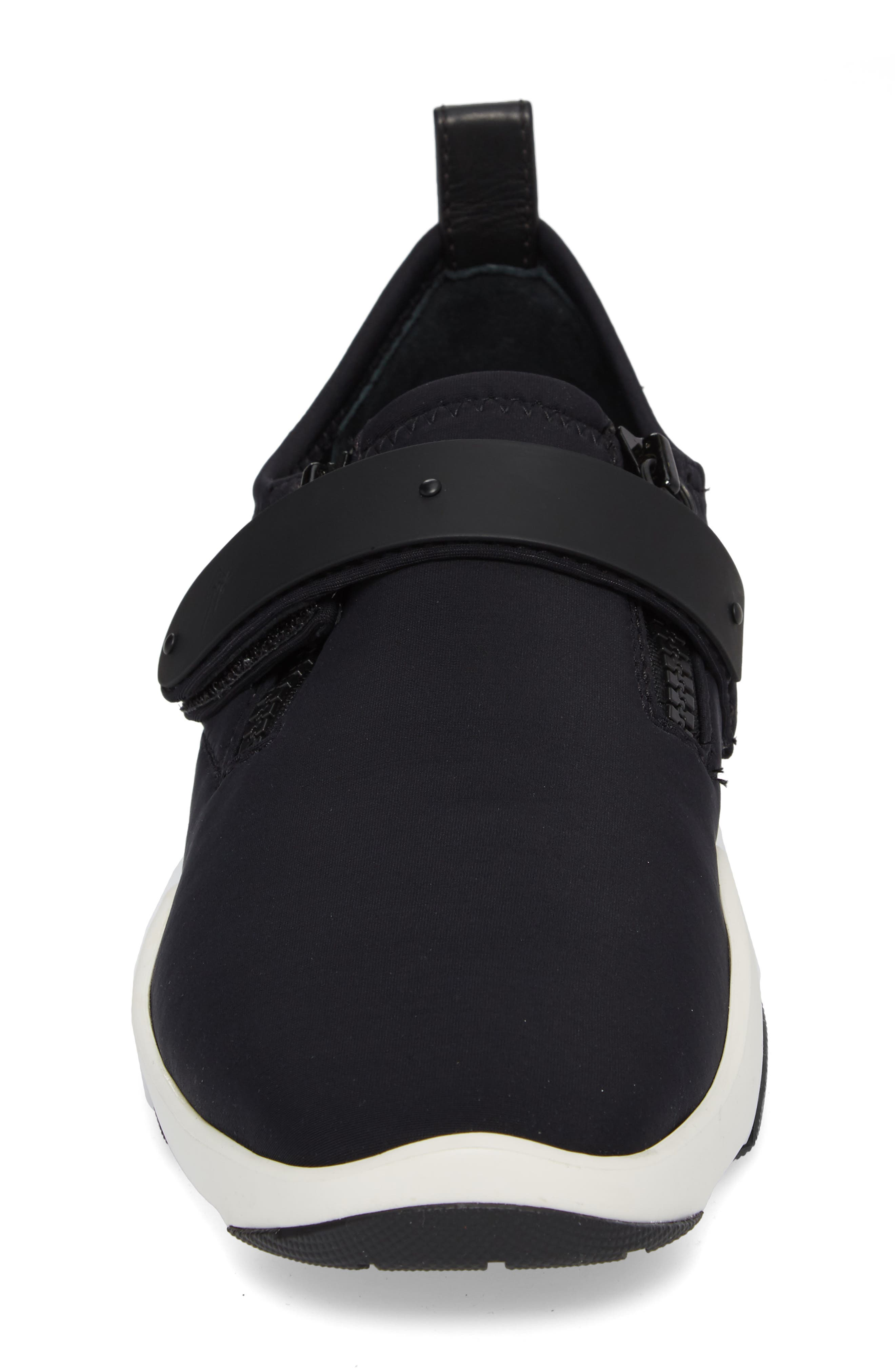 Scuba Strap Sneaker,                             Alternate thumbnail 4, color,                             001