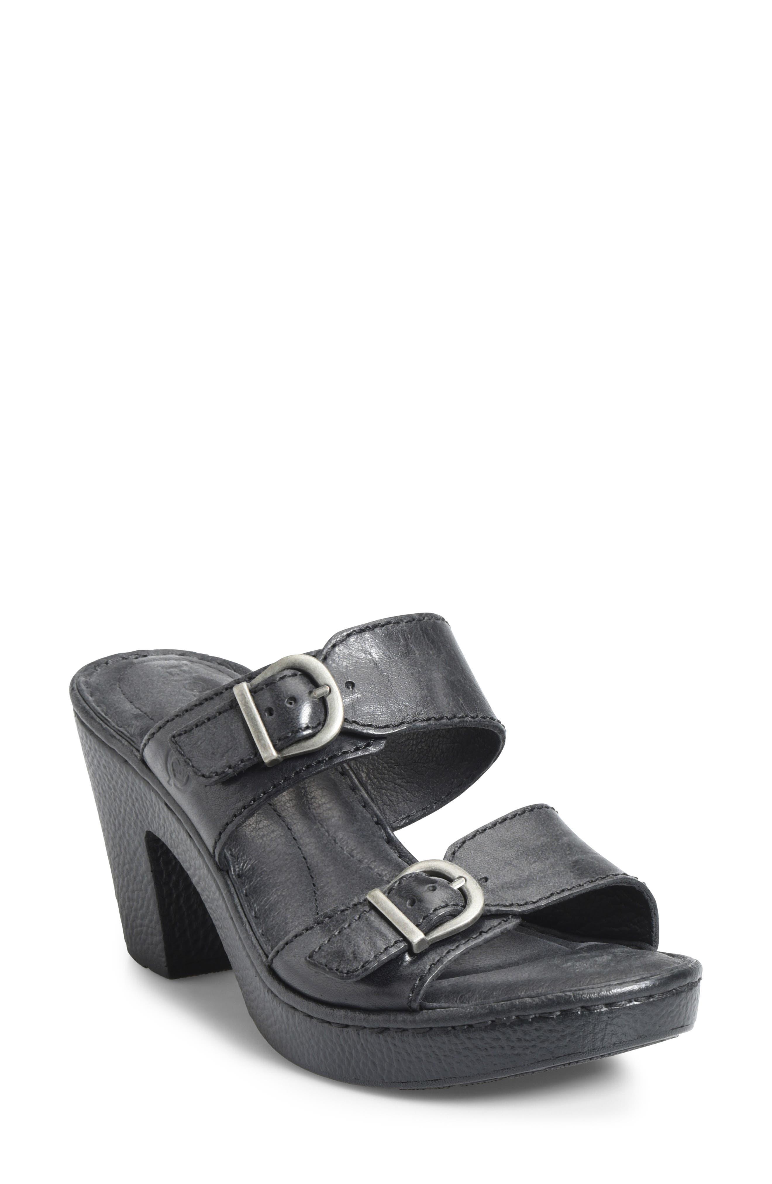 B?rn Wallowa Sandal, Black