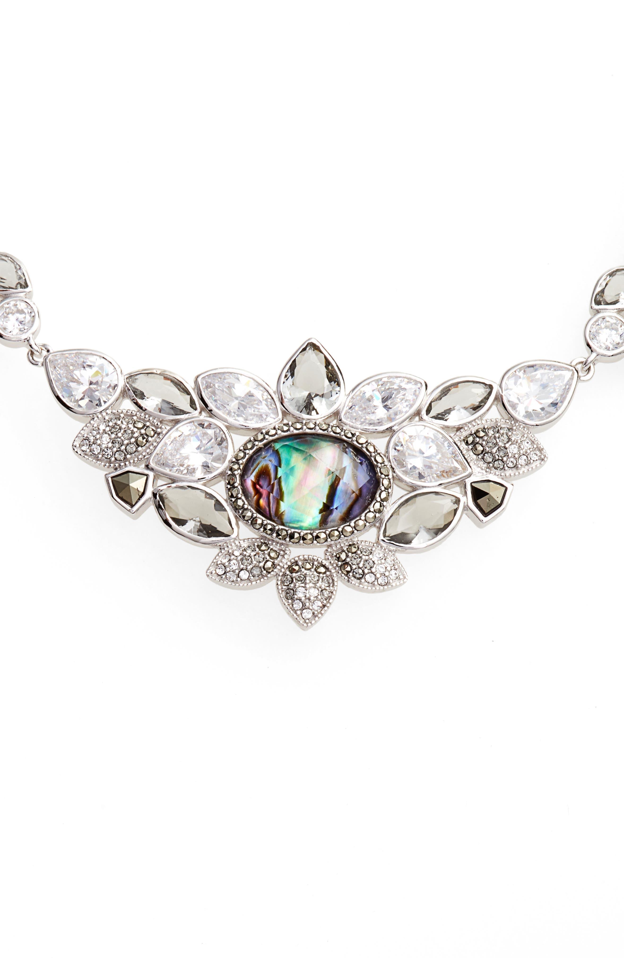 Crystal Collar Necklace,                         Main,                         color, 400