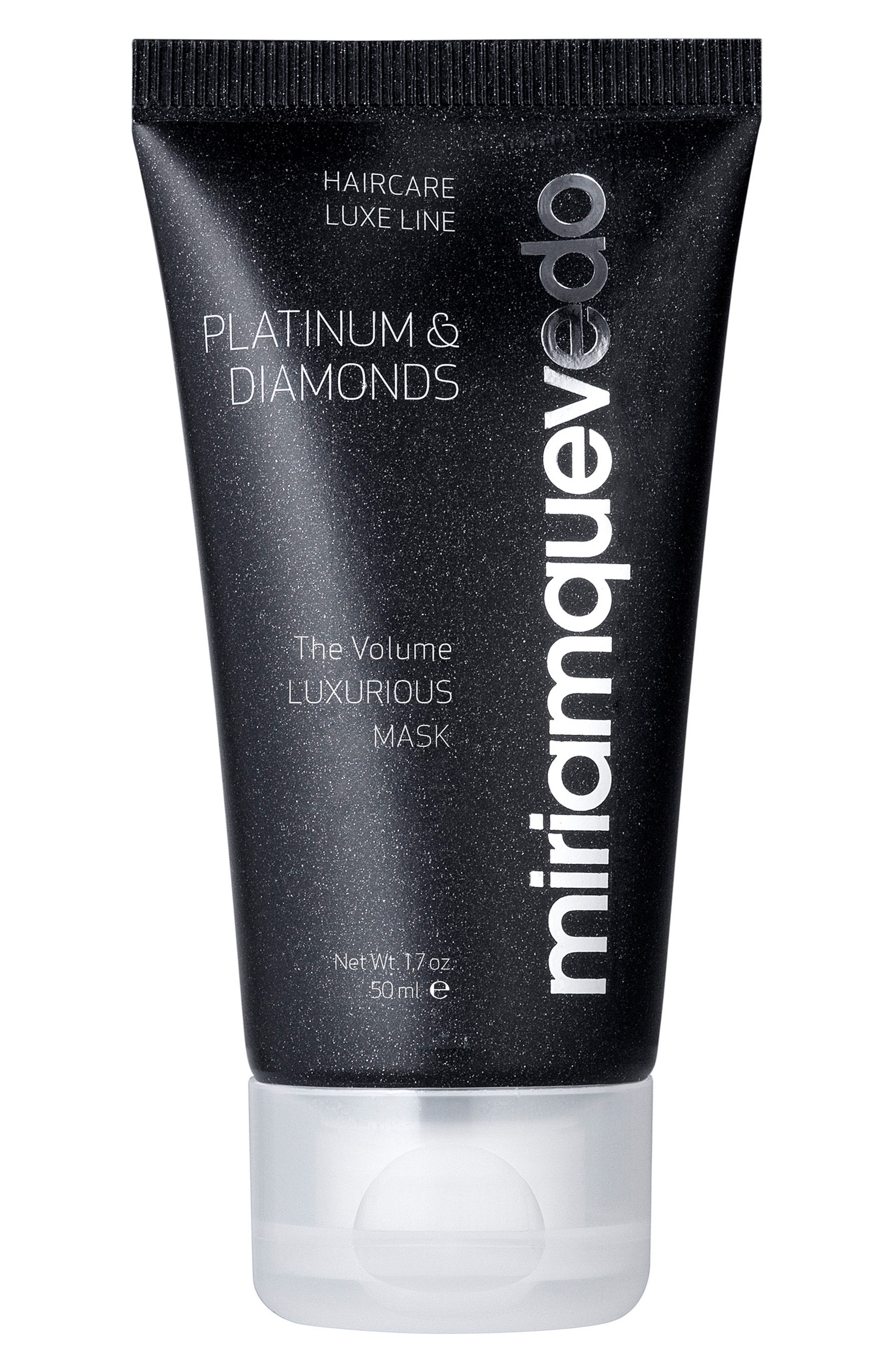 SPACE.NK.apothecary Miriam Quevedo Platinum & Diamonds Luxurious Volume Hair Mask,                             Alternate thumbnail 2, color,                             NO COLOR