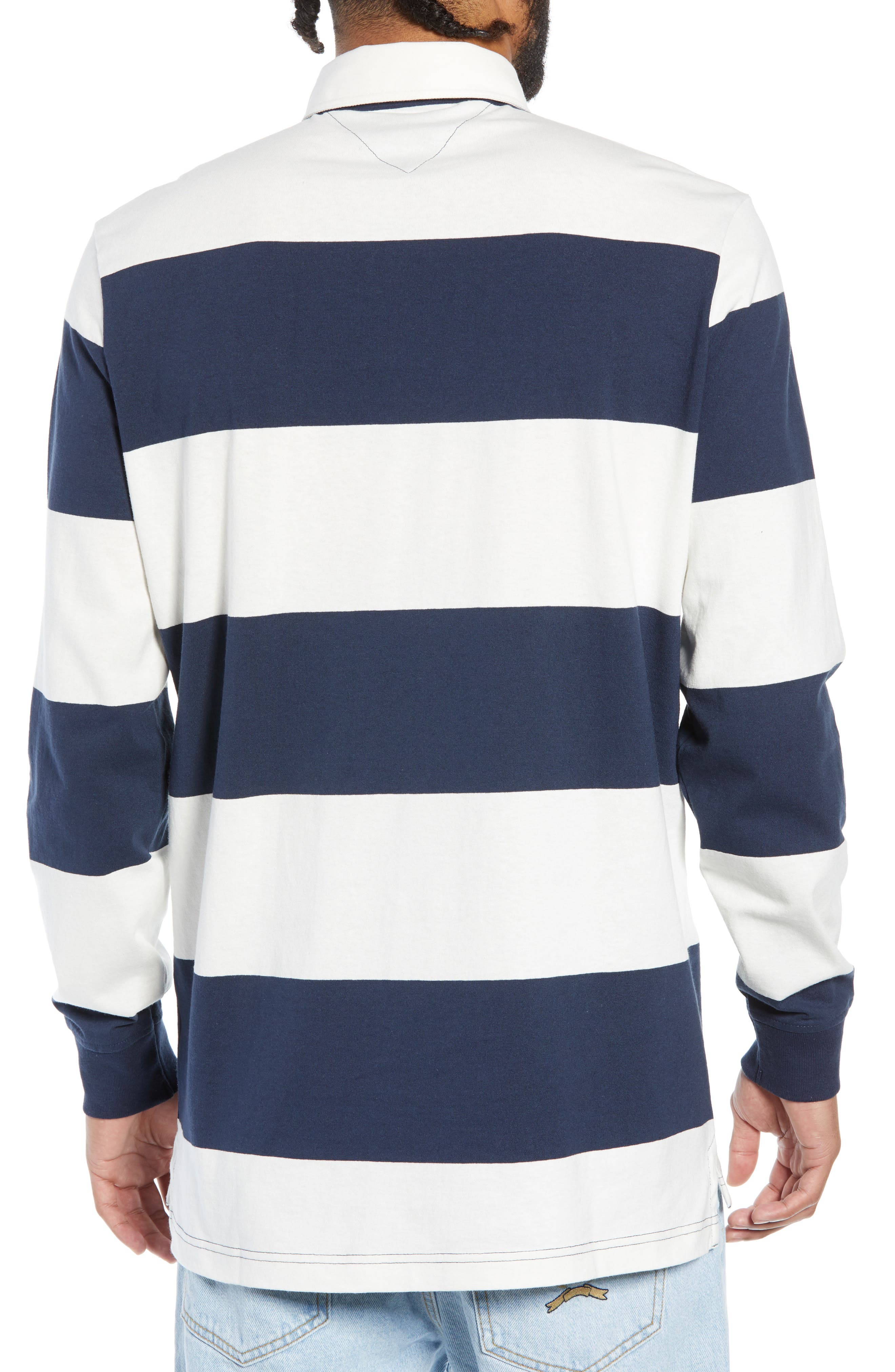 TJM Tommy Classics Rugby Shirt,                             Alternate thumbnail 2, color,                             100