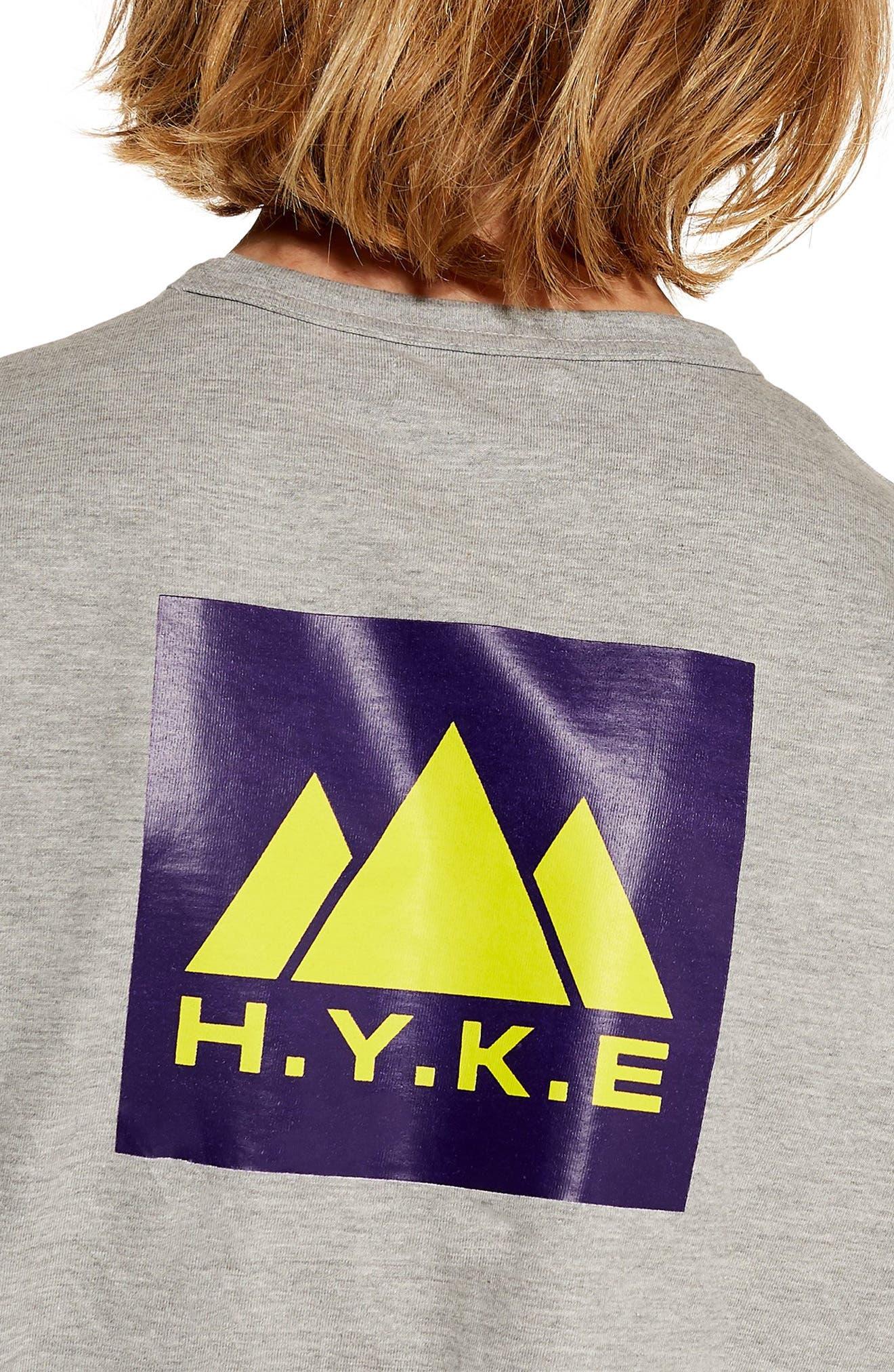H.Y.K.E. Graphic T-Shirt,                             Alternate thumbnail 3, color,                             GREY