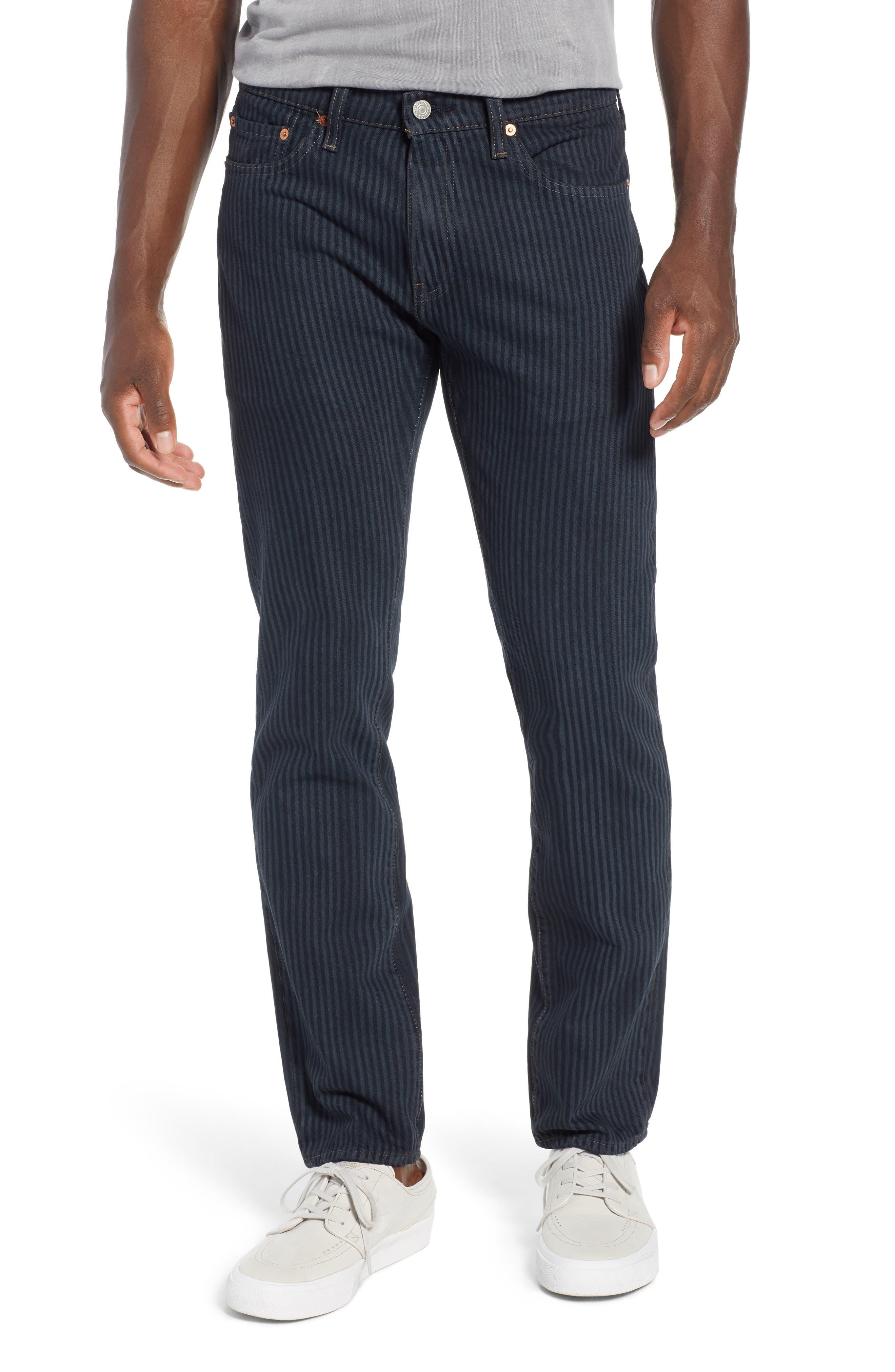511<sup>™</sup> Stripe Slim Fit Jeans,                             Main thumbnail 1, color,                             PAUPER