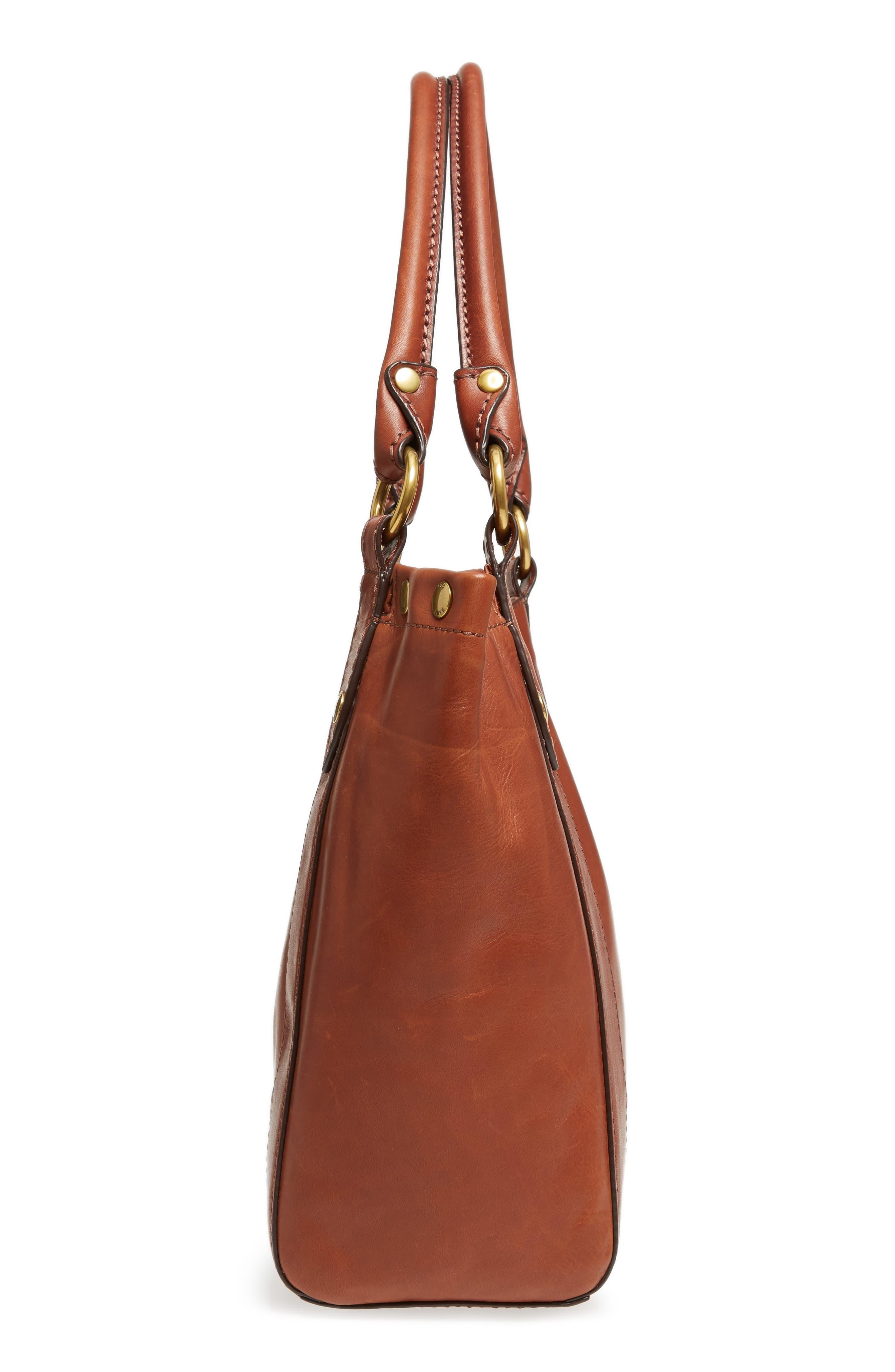 Melissa Leather Shoulder Bag,                             Alternate thumbnail 14, color,