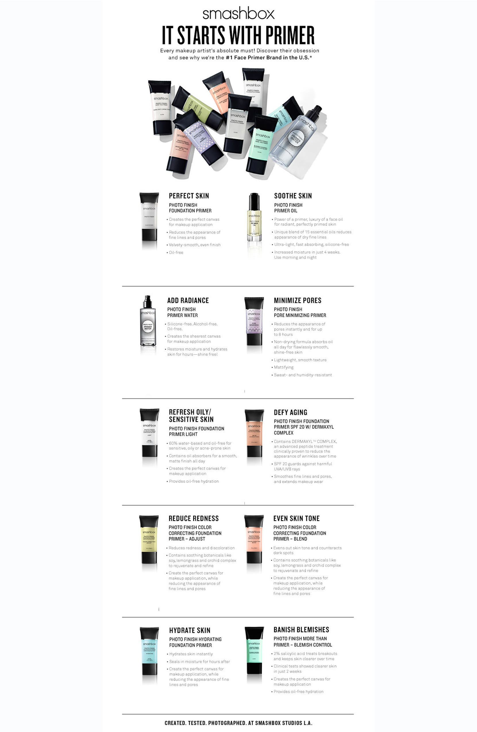 Smashbox Photo Finish Protect Spf 20 Primer Nordstrom