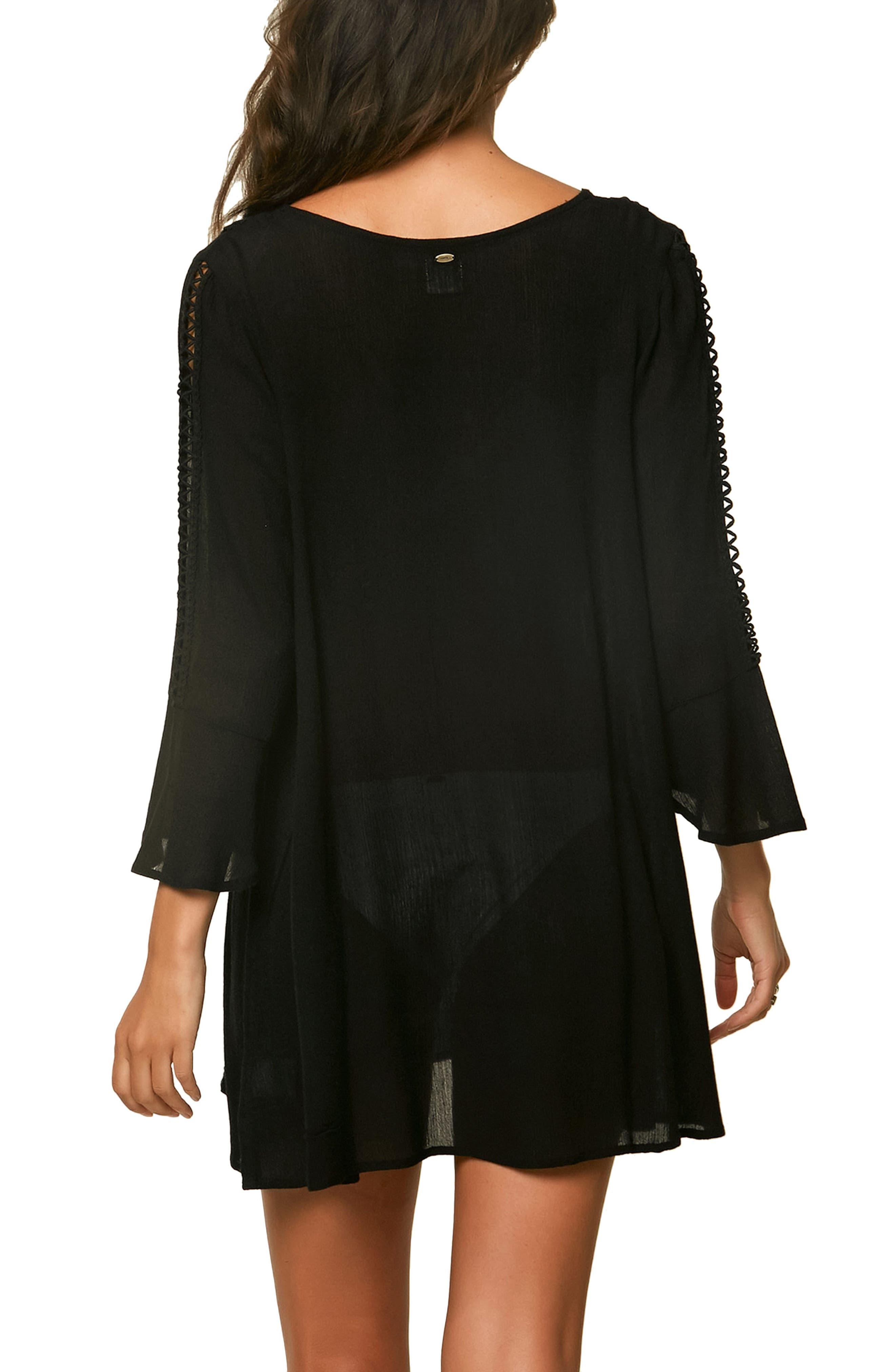 Estella Cover-up Dress,                             Alternate thumbnail 2, color,                             001
