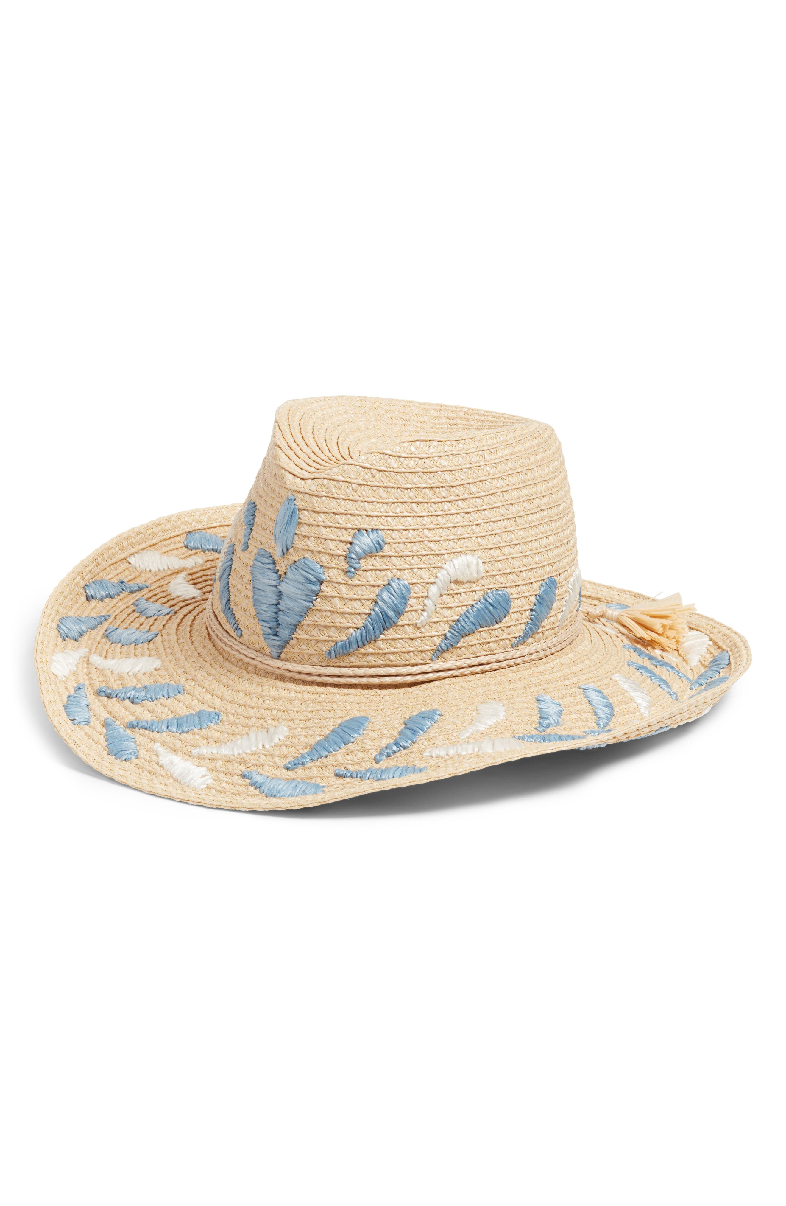 Corsica Squishee<sup>®</sup> Western Hat,                             Main thumbnail 1, color,                             FLAX MIX