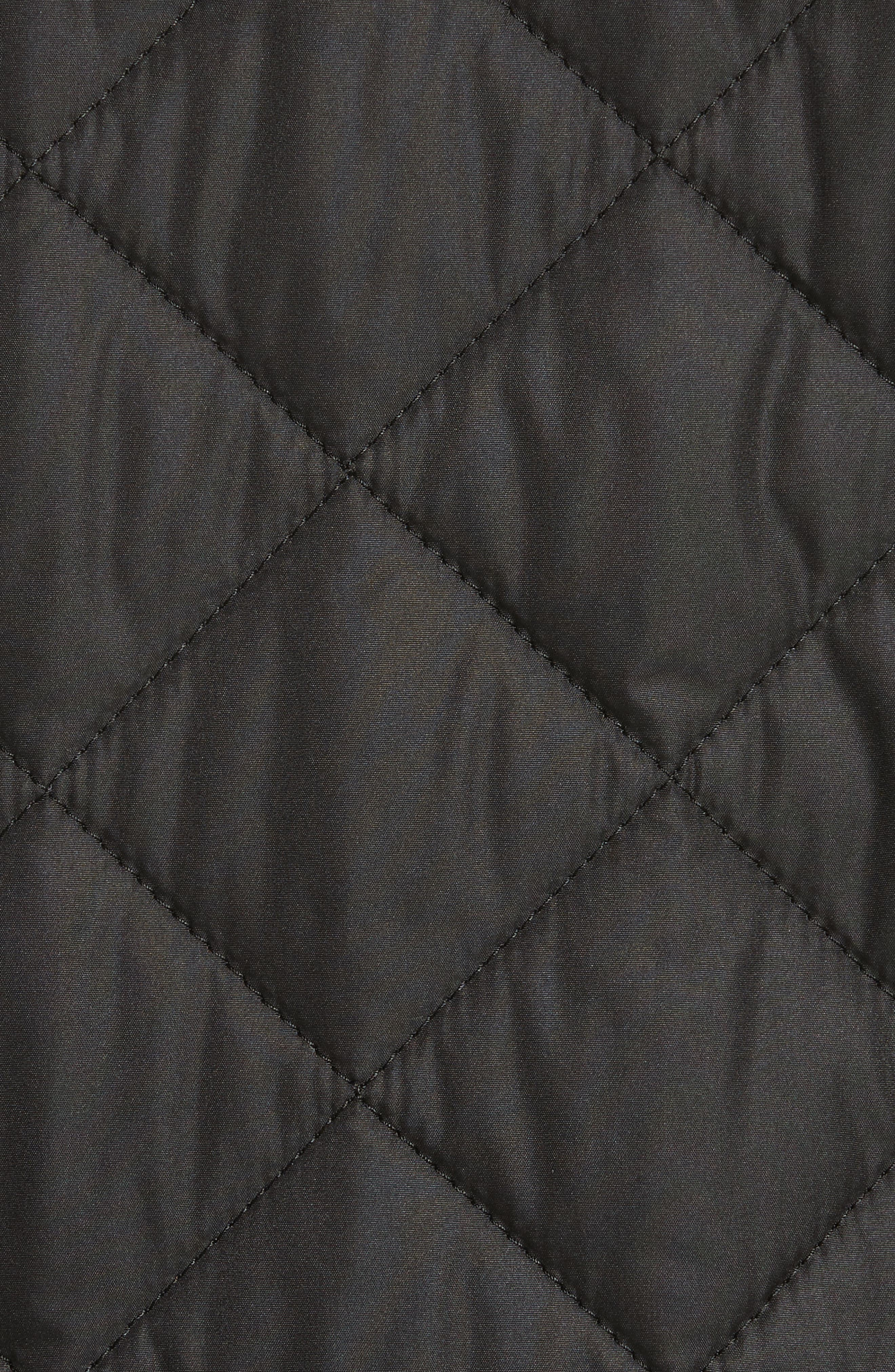 Pensham Quilted Jacket,                             Alternate thumbnail 6, color,                             001