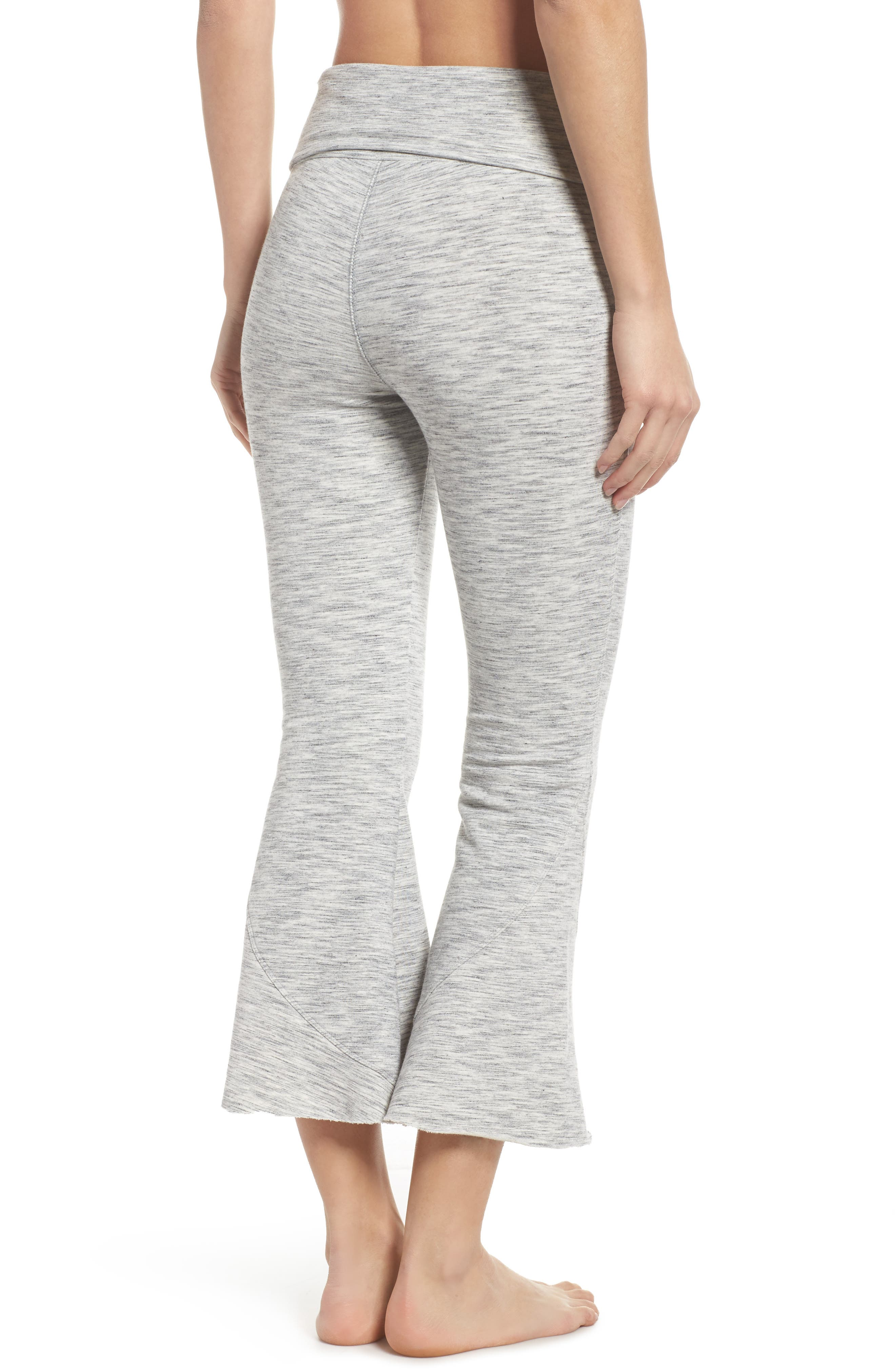 FP Movement Nico Crop Flare Sweatpants,                             Alternate thumbnail 2, color,                             025