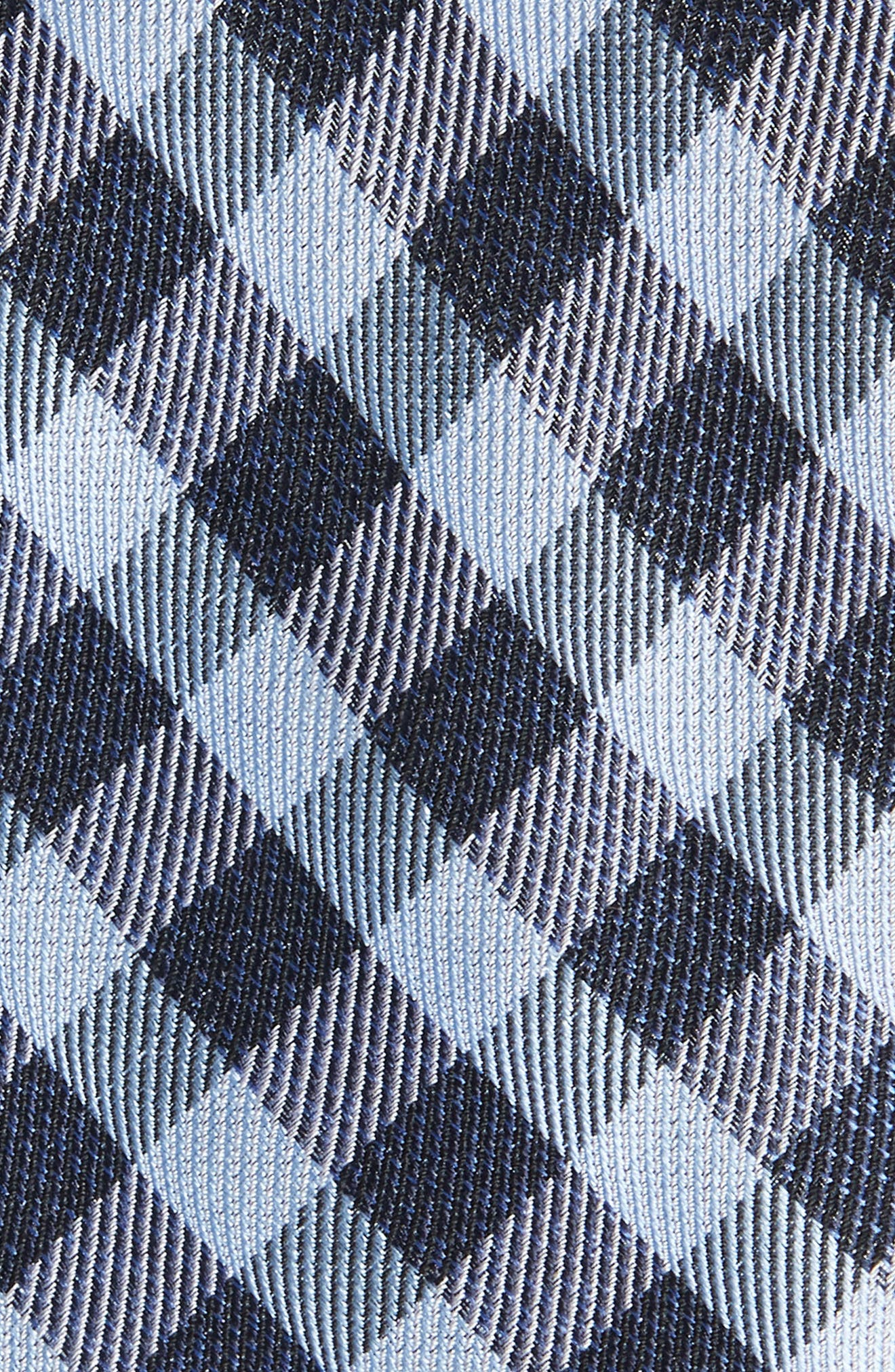 Avers Plaid Silk Tie,                             Alternate thumbnail 2, color,                             BLUE