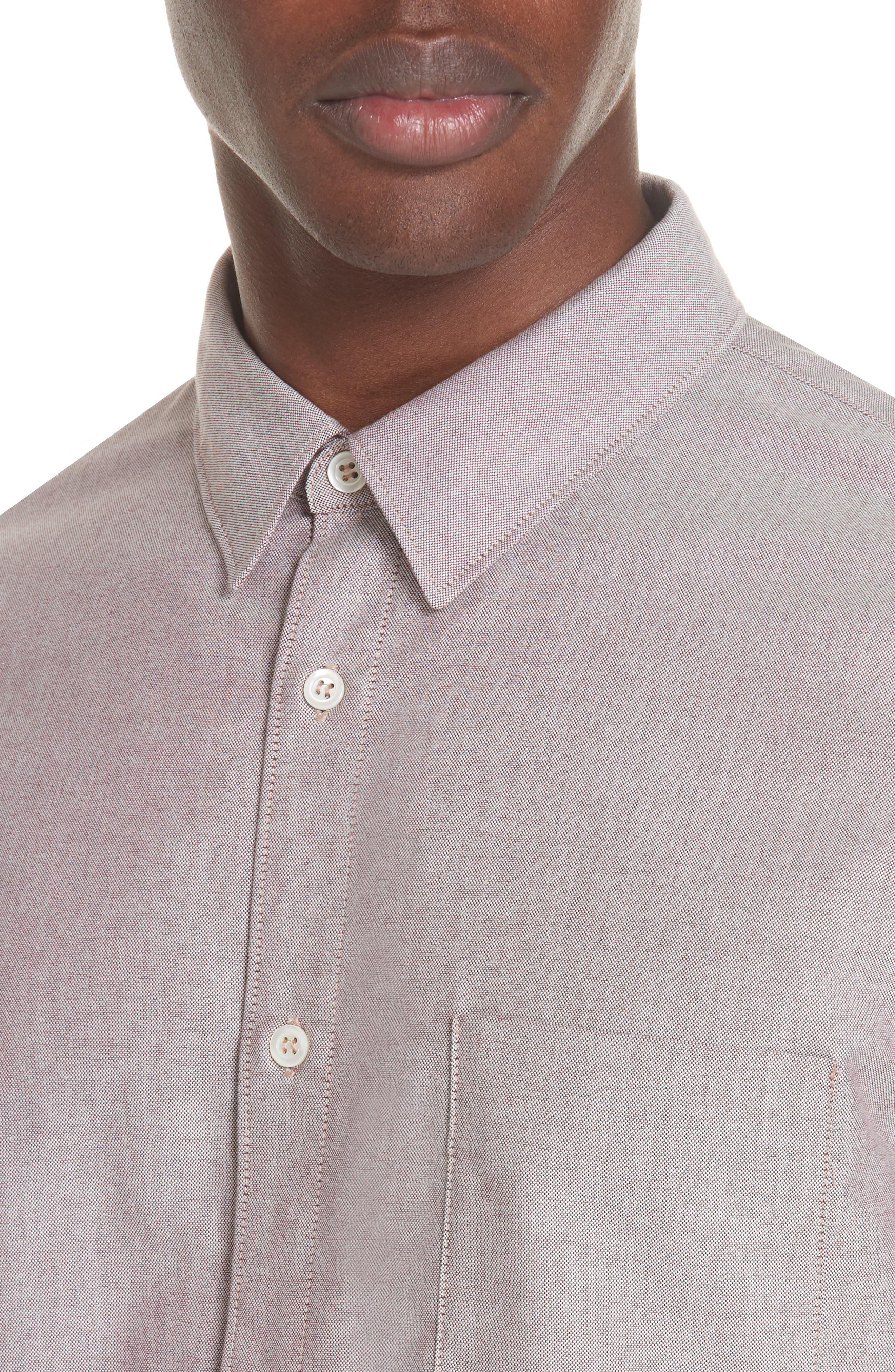 Oxford Sport Shirt,                             Alternate thumbnail 2, color,                             GAC BORDE