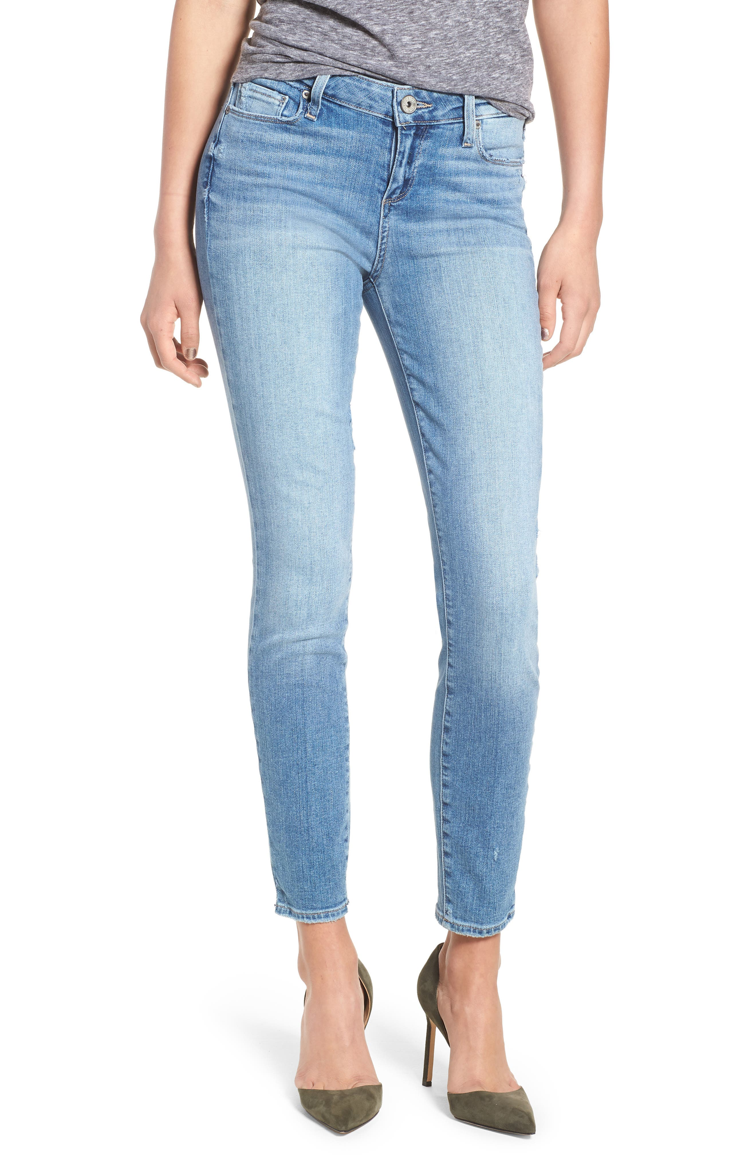 Transcend - Verdugo Ankle Ultra Skinny Jeans,                         Main,                         color, 400