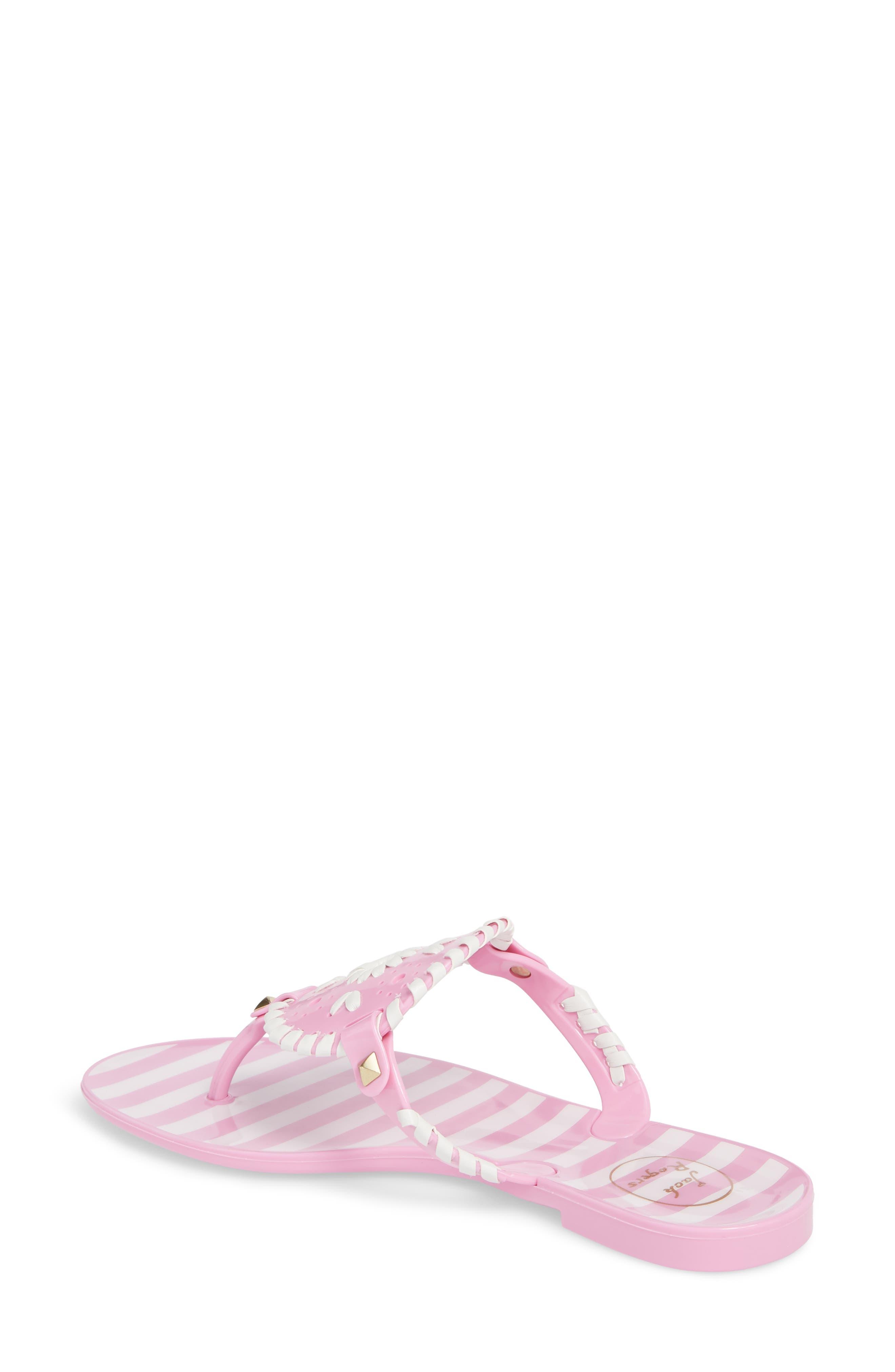 'Georgica' Jelly Flip Flop,                             Alternate thumbnail 52, color,