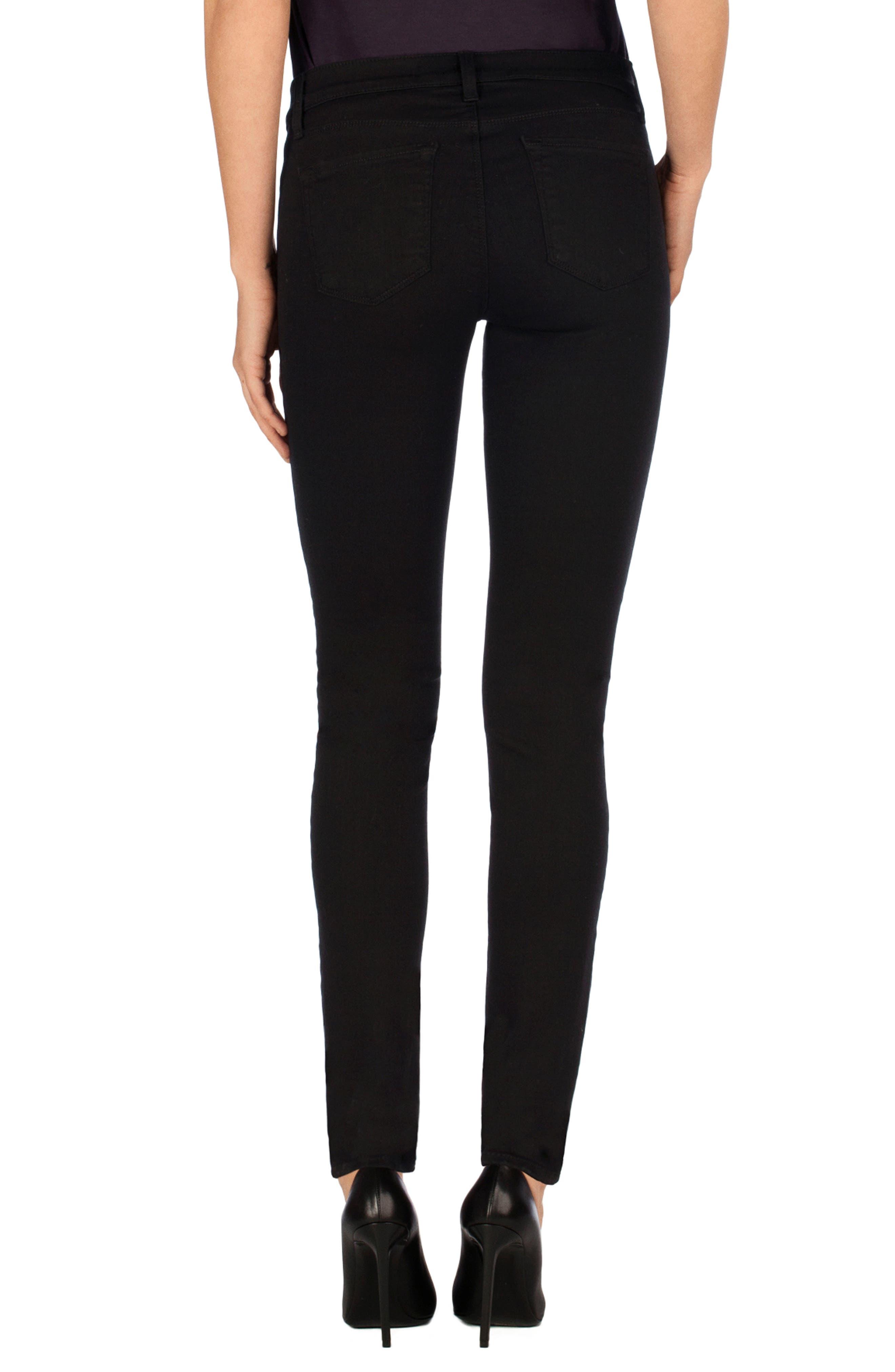 J BRAND,                             Super Skinny Jeans,                             Alternate thumbnail 2, color,                             SERIOUSLY BLACK