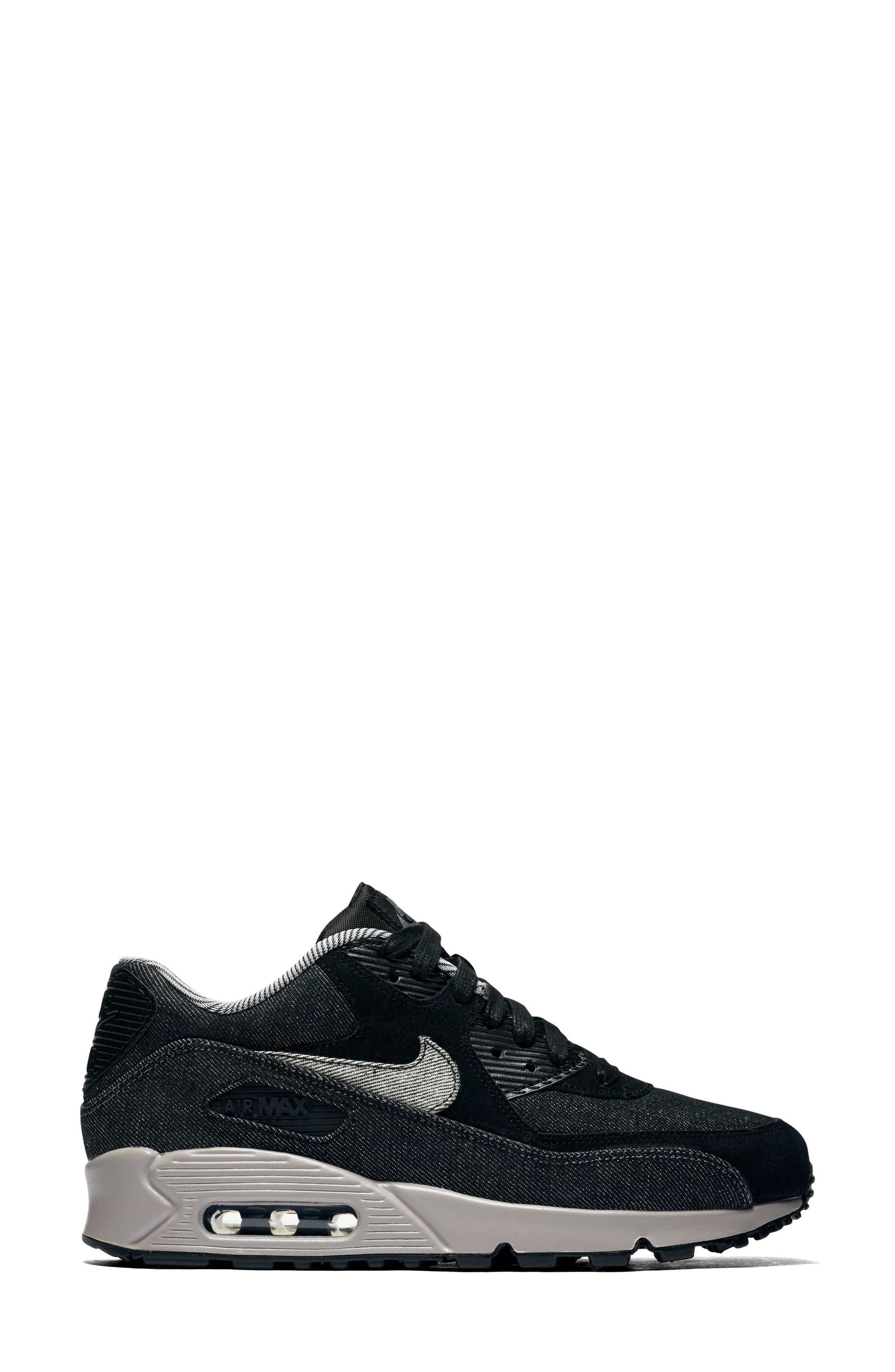Air Max 90 SE Sneaker,                             Alternate thumbnail 23, color,