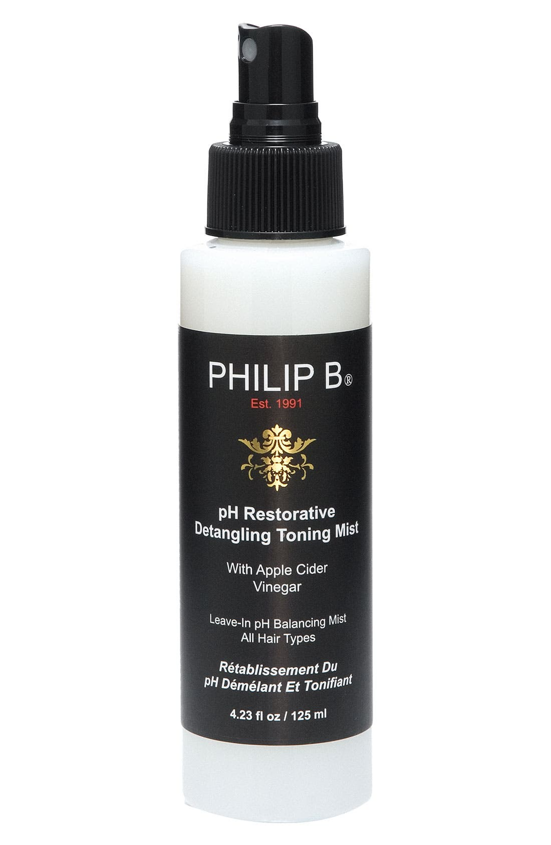 SPACE.NK.apothecary PHILIP B<sup>®</sup> pH Restorative Detangling Toning Mist,                         Main,                         color, 000