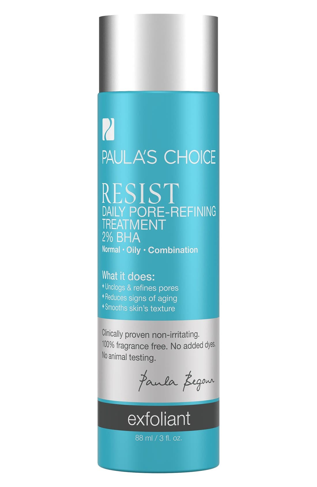 Resist Daily Pore-Refining Treatment,                             Main thumbnail 1, color,                             NO COLOR