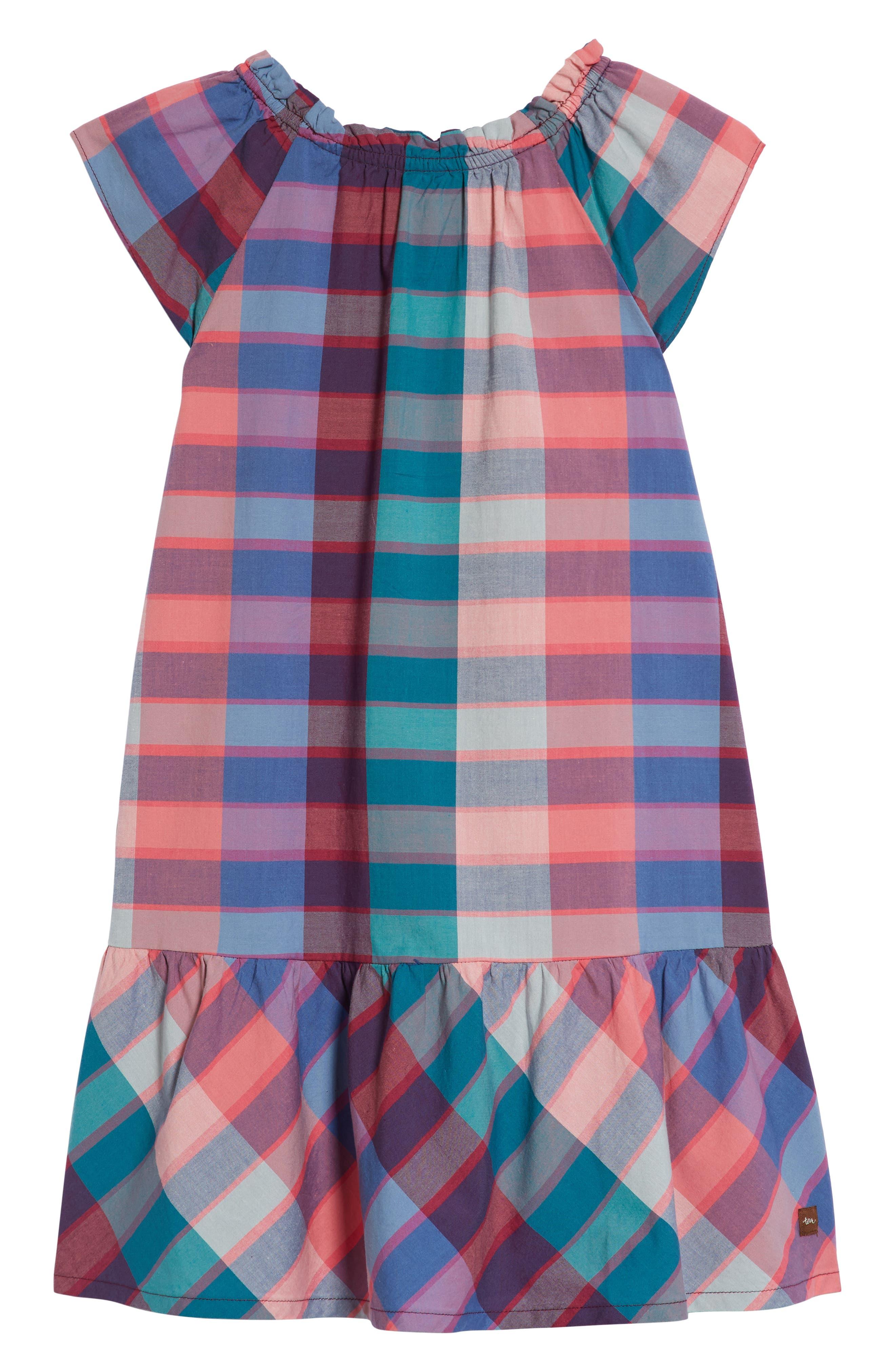 Classic Plaid Dress,                             Alternate thumbnail 2, color,