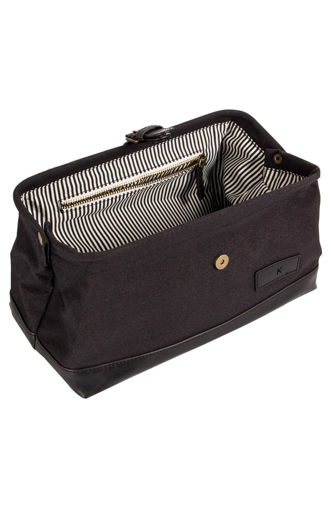 Monogram Travel Case,                             Alternate thumbnail 3, color,                             001