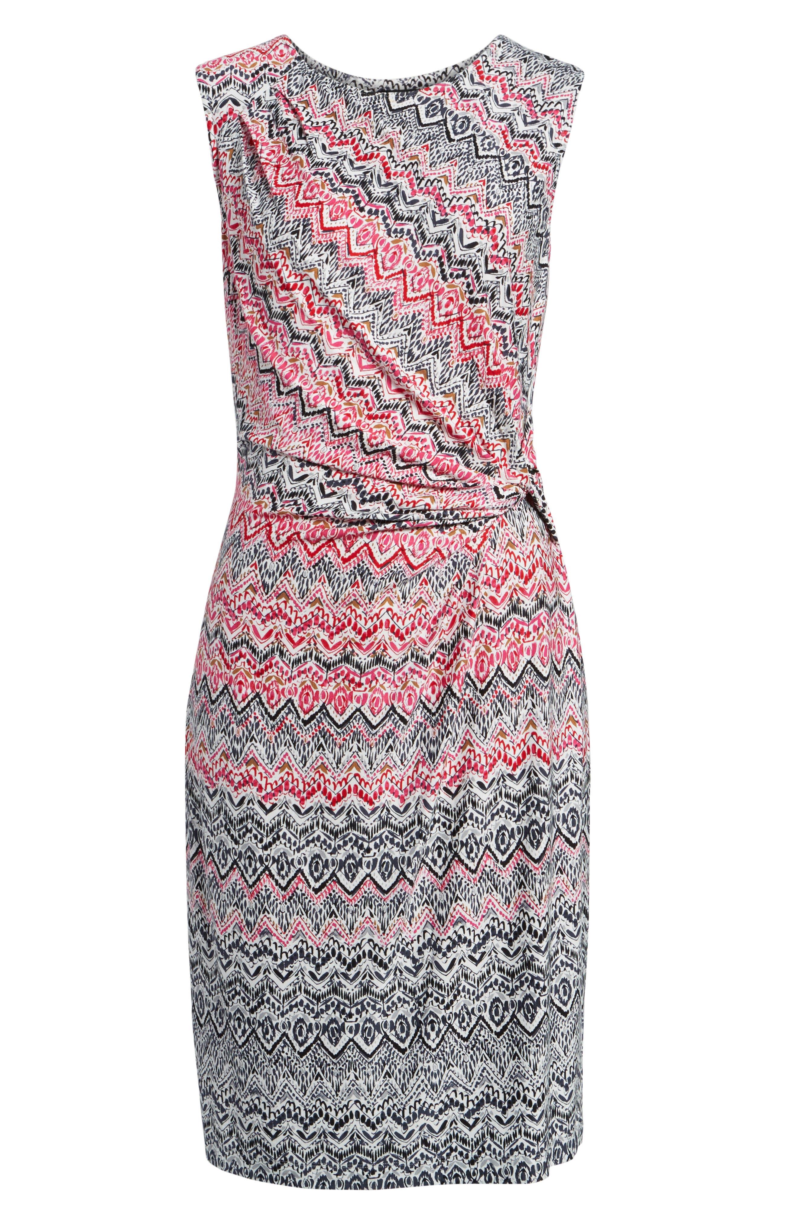 Spiced Up Twist Sheath Dress,                             Alternate thumbnail 6, color,                             690