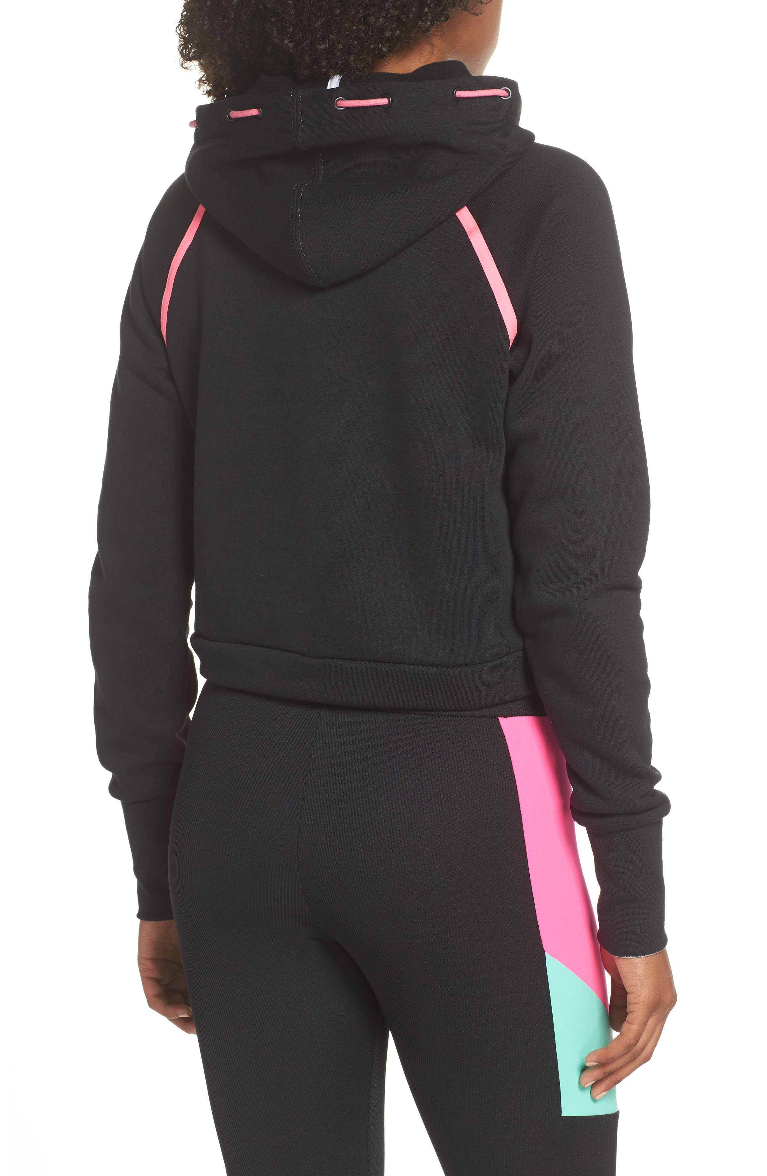 Reflect Hoodie,                             Alternate thumbnail 2, color,                             PUMA BLACK