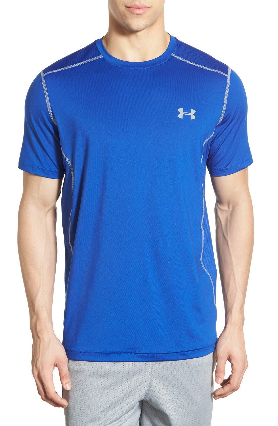 'Raid' HeatGear<sup>®</sup> Training T-Shirt,                             Main thumbnail 15, color,