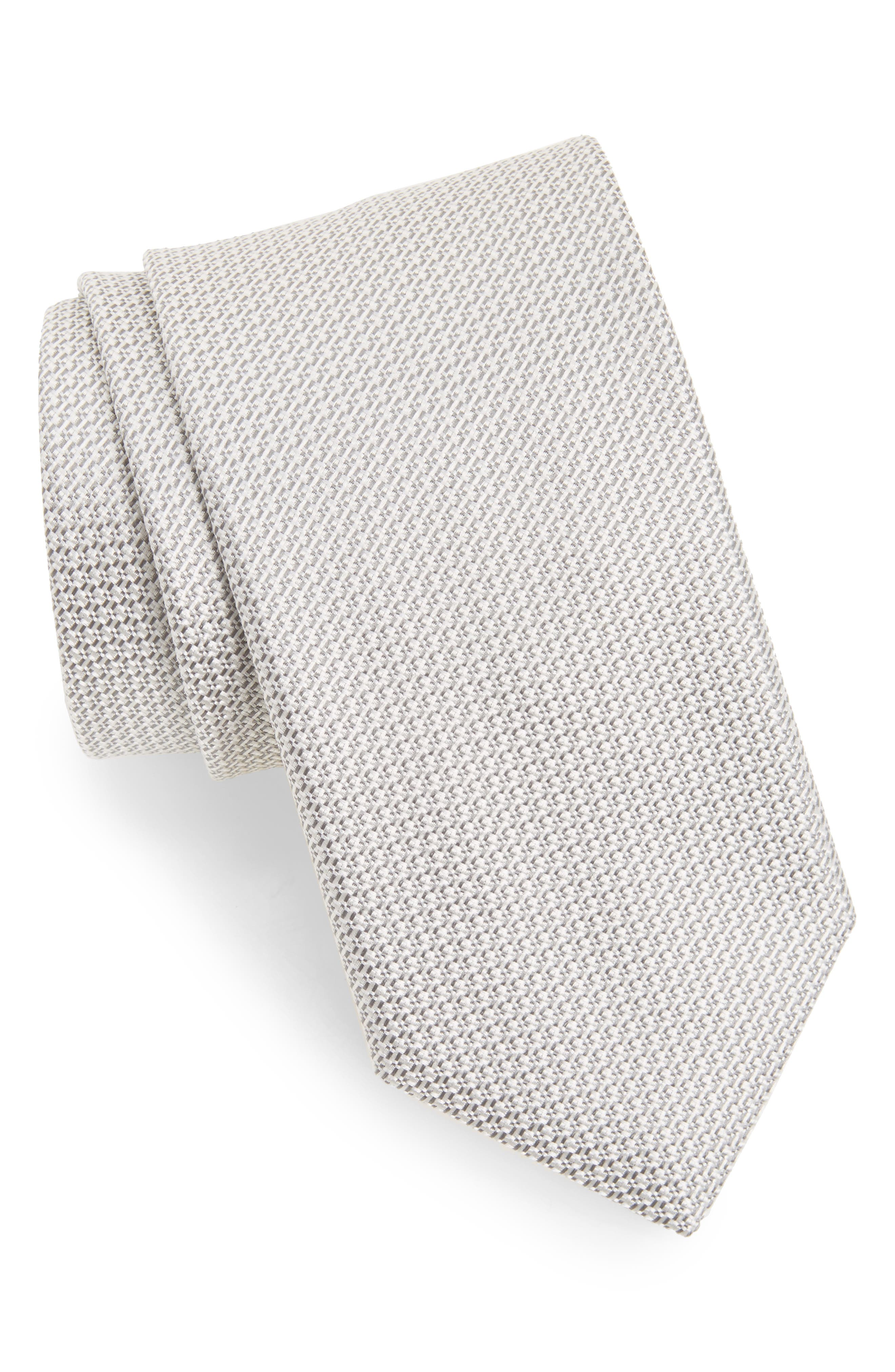 Solid Silk Tie,                             Main thumbnail 1, color,                             039
