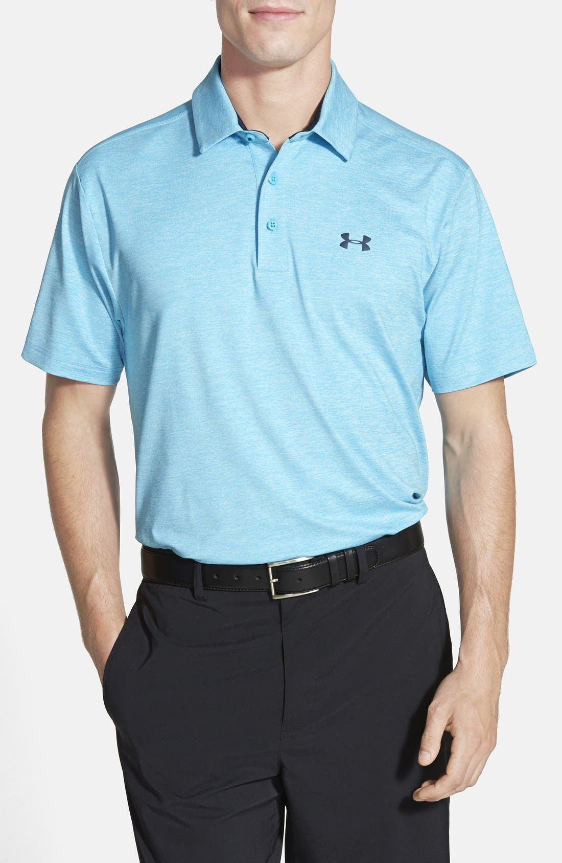 'Playoff' Loose Fit Short Sleeve Polo,                             Main thumbnail 39, color,