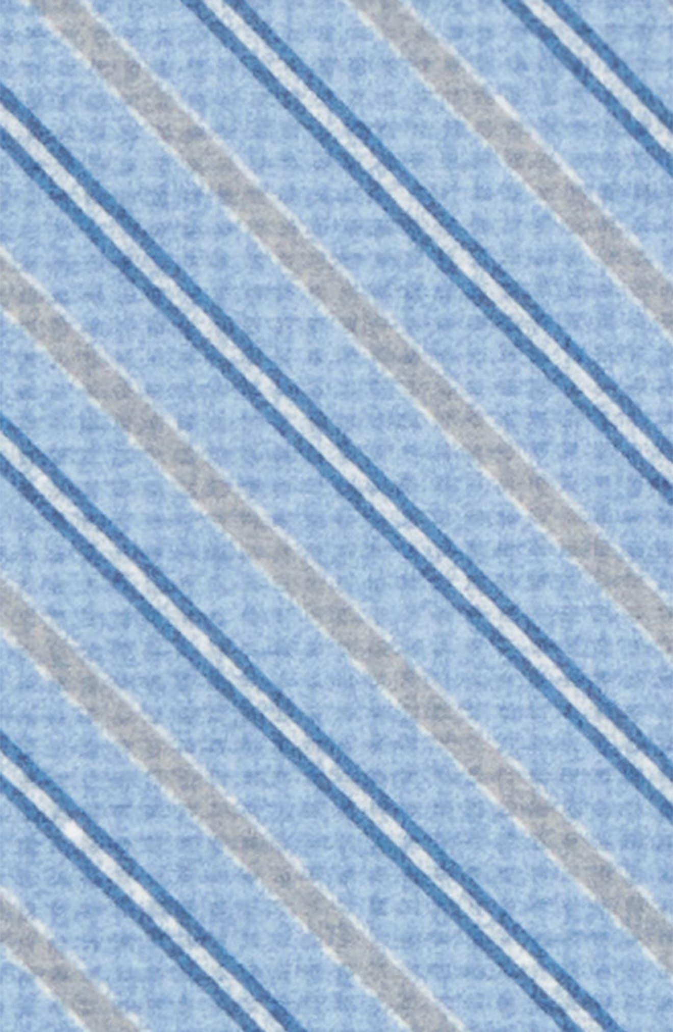 Stripe Cotton & Silk Pocket Square,                             Alternate thumbnail 3, color,