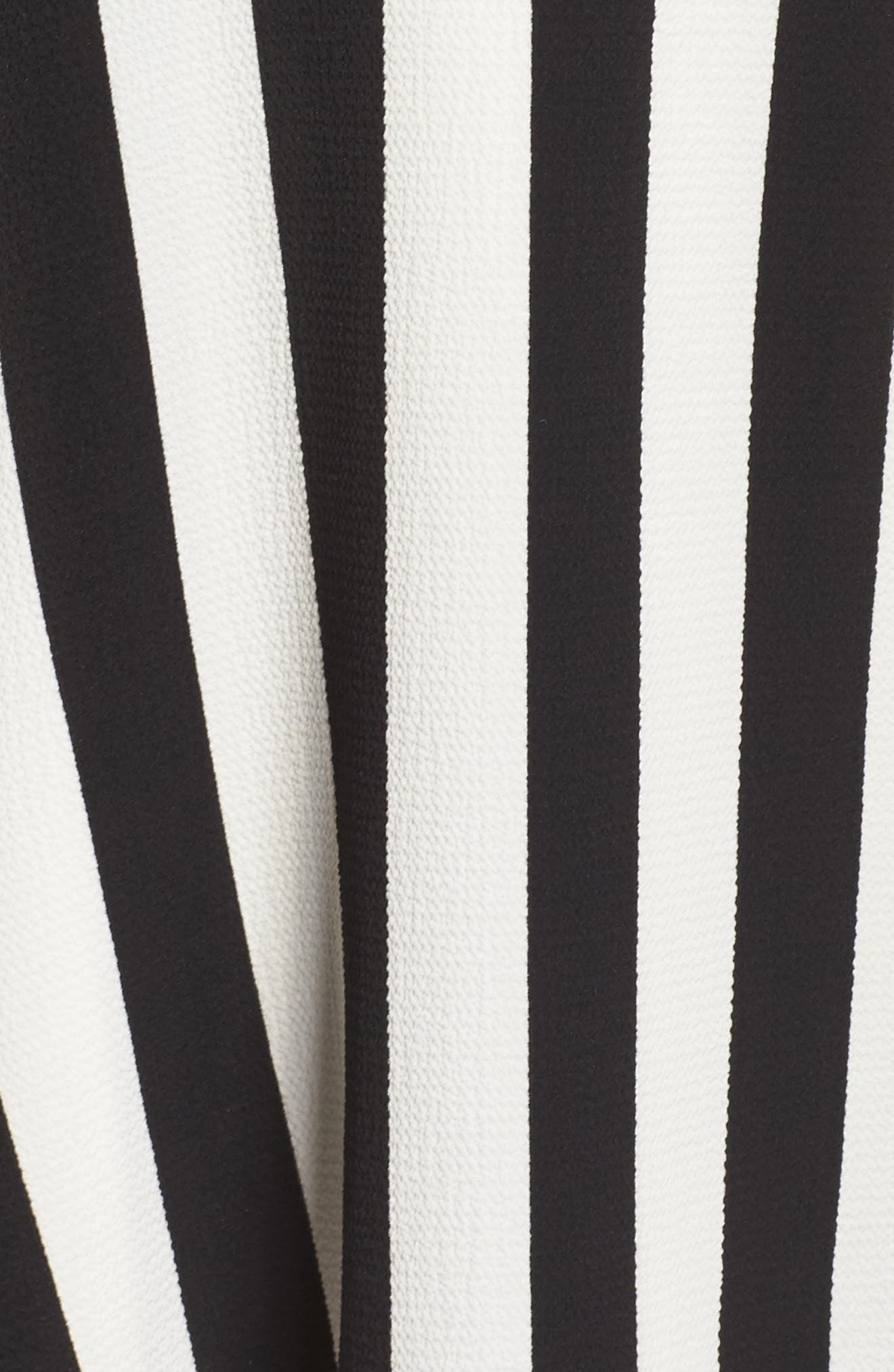 Spectator Asymmetrical Hem Dress,                             Alternate thumbnail 5, color,                             RICH BLACK