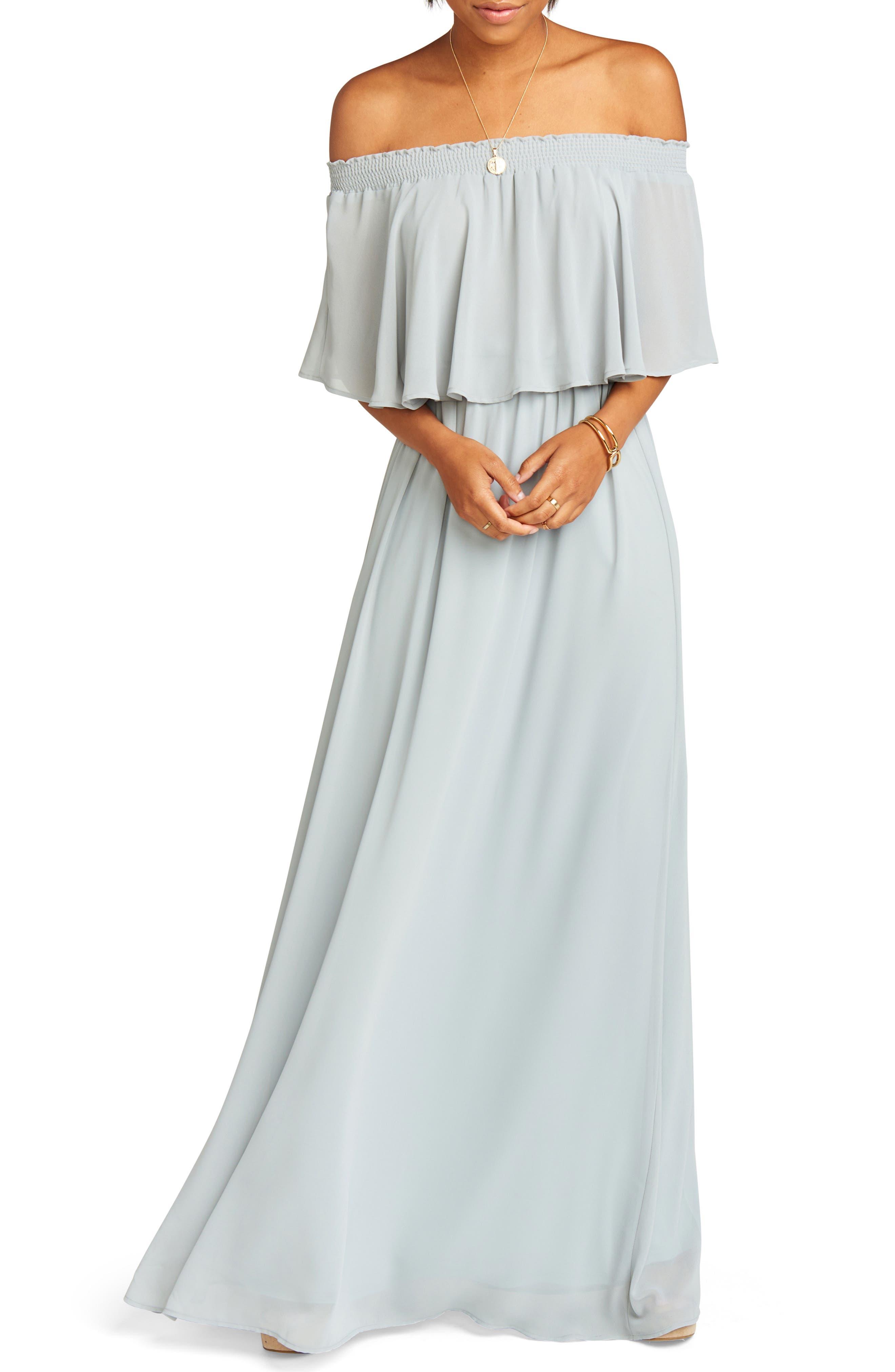 Hacienda Convertible Gown,                         Main,                         color, 050